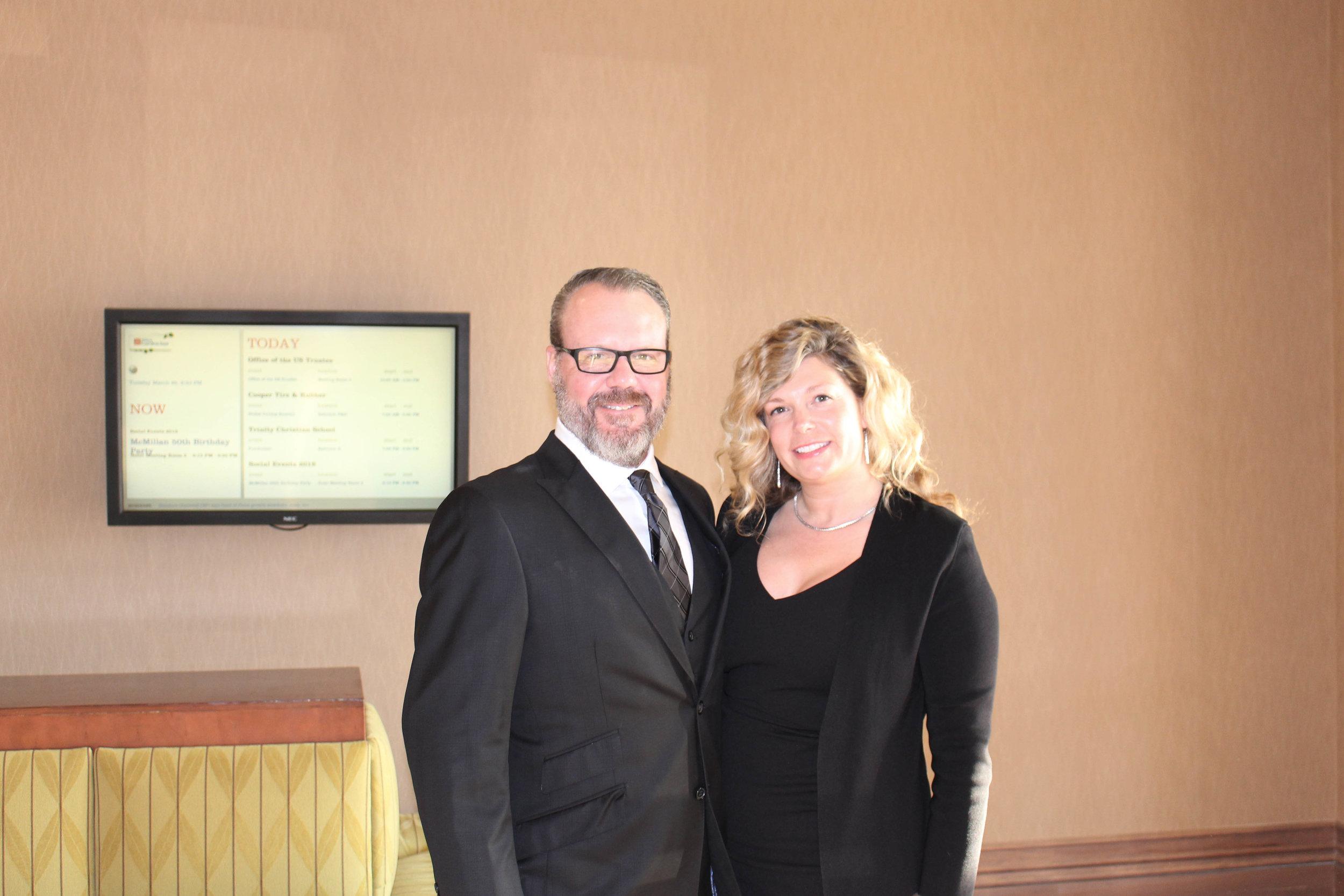 Dr. Erik and Elizabeth Jacobsen