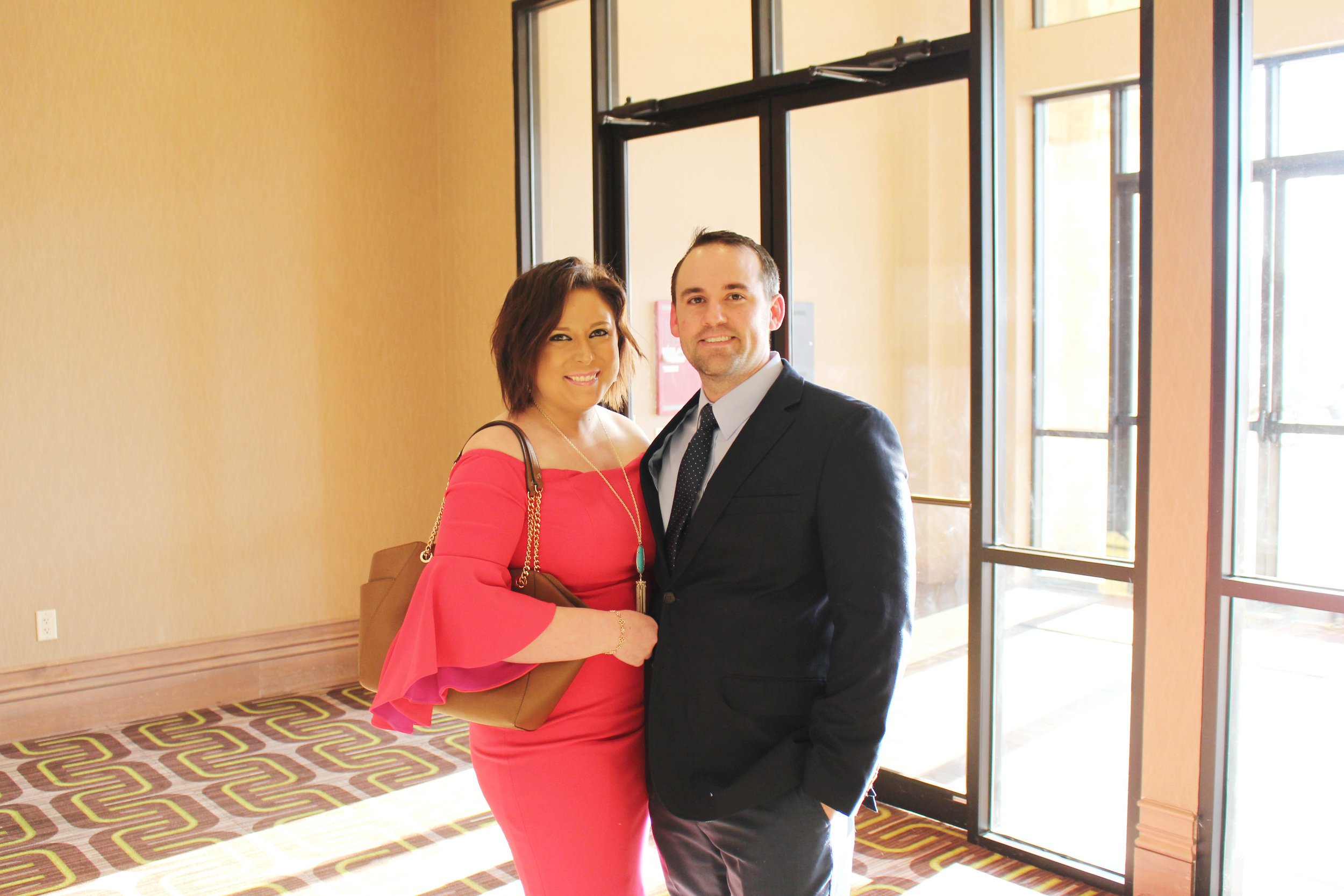 Kayla and Aaron Lewis