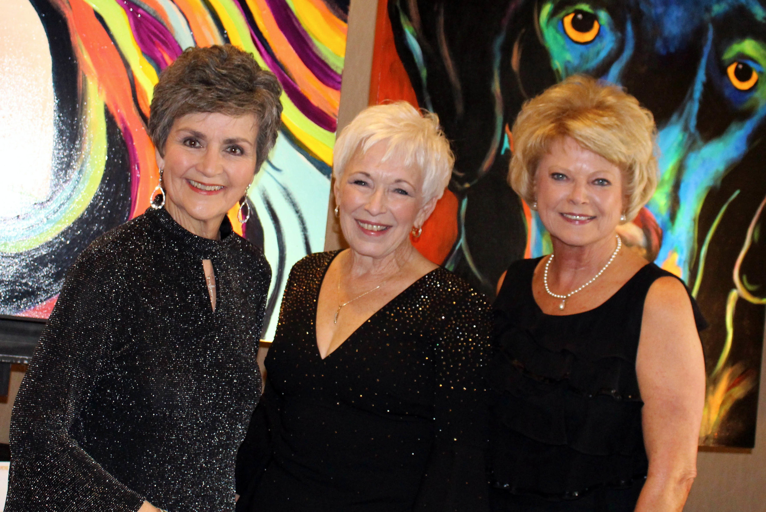 Annell Langdon, Sue Beck and Debra Moore