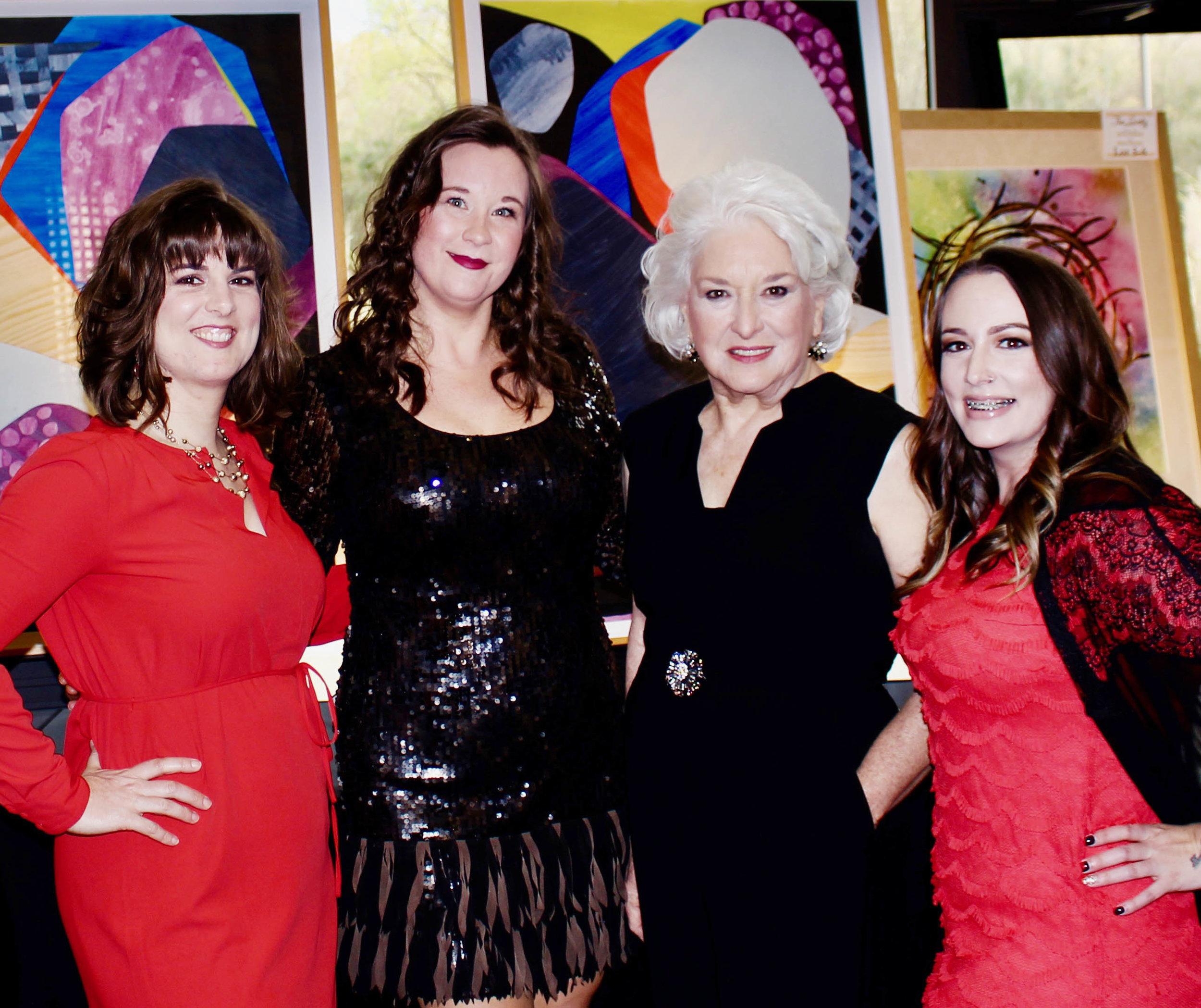 Laney Bassham, Brooke Hopkins, Margaret Ransom and Taylor Chronister