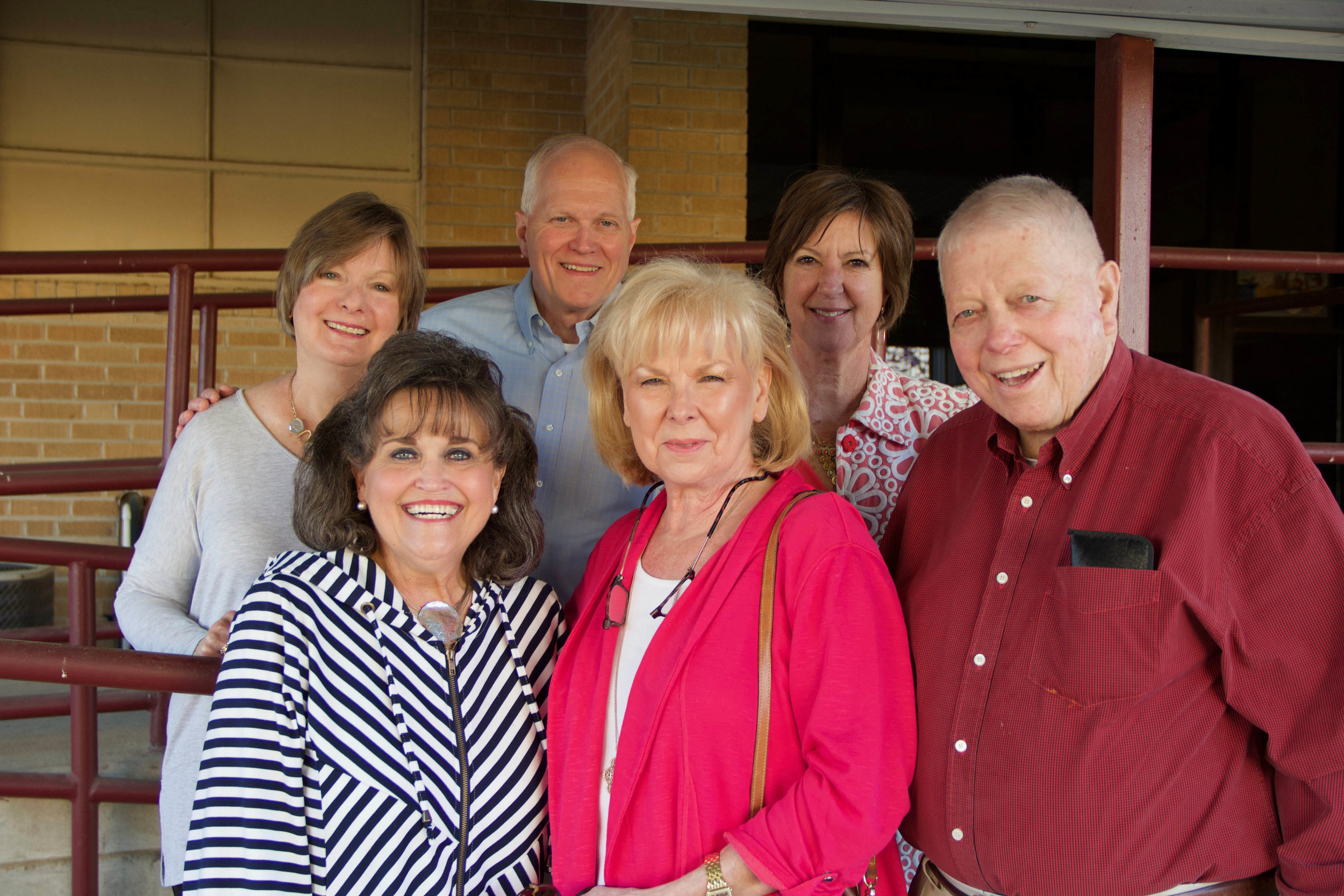 Jackie Gooding, Mary Katherine Weber, Bill Gooding, Pat Nance, Gail Eichler and Allen Nance