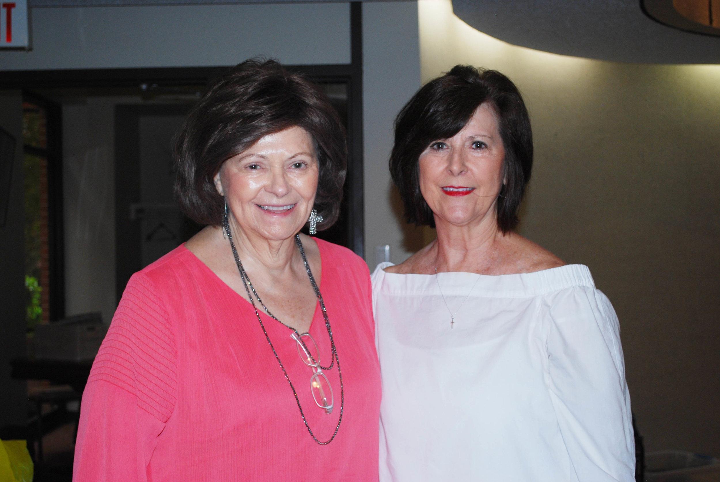 Brenda Hogan and Debbie Sharp