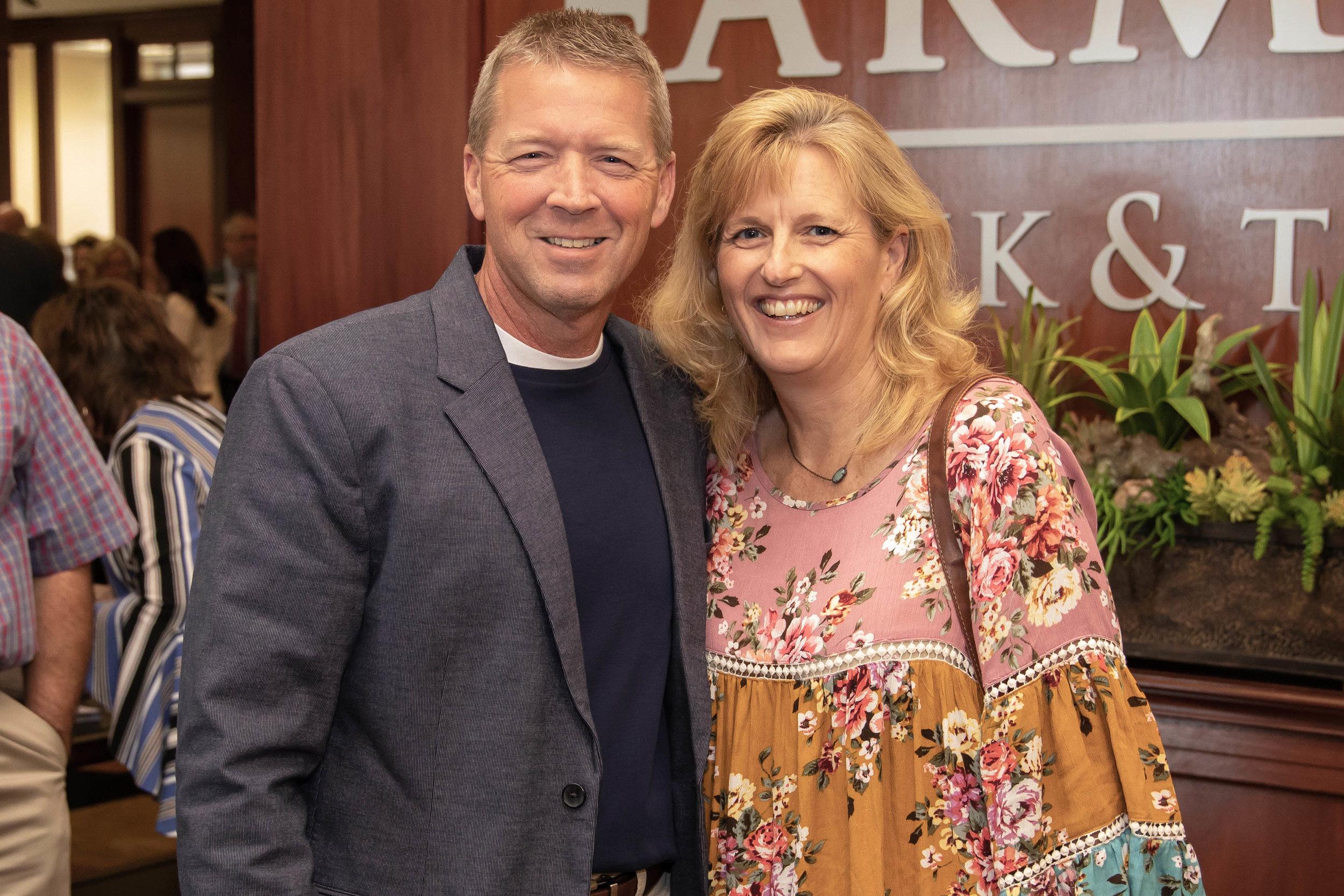 Ronnie and Traci Thompson