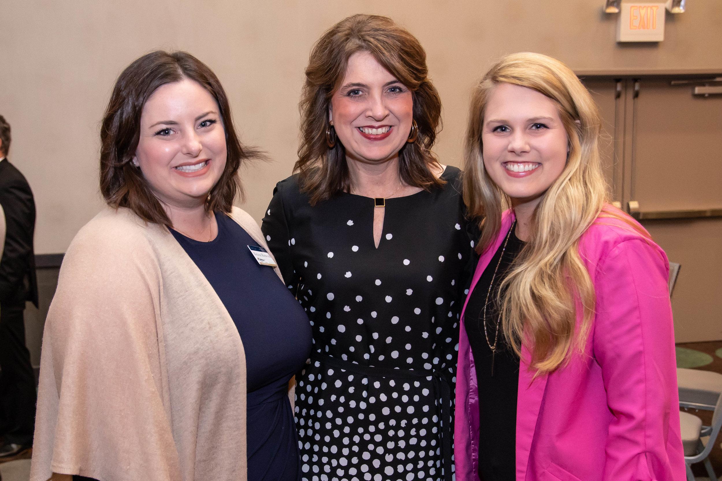 Natalie Haywood, Suzy Irwin and Cara Knight