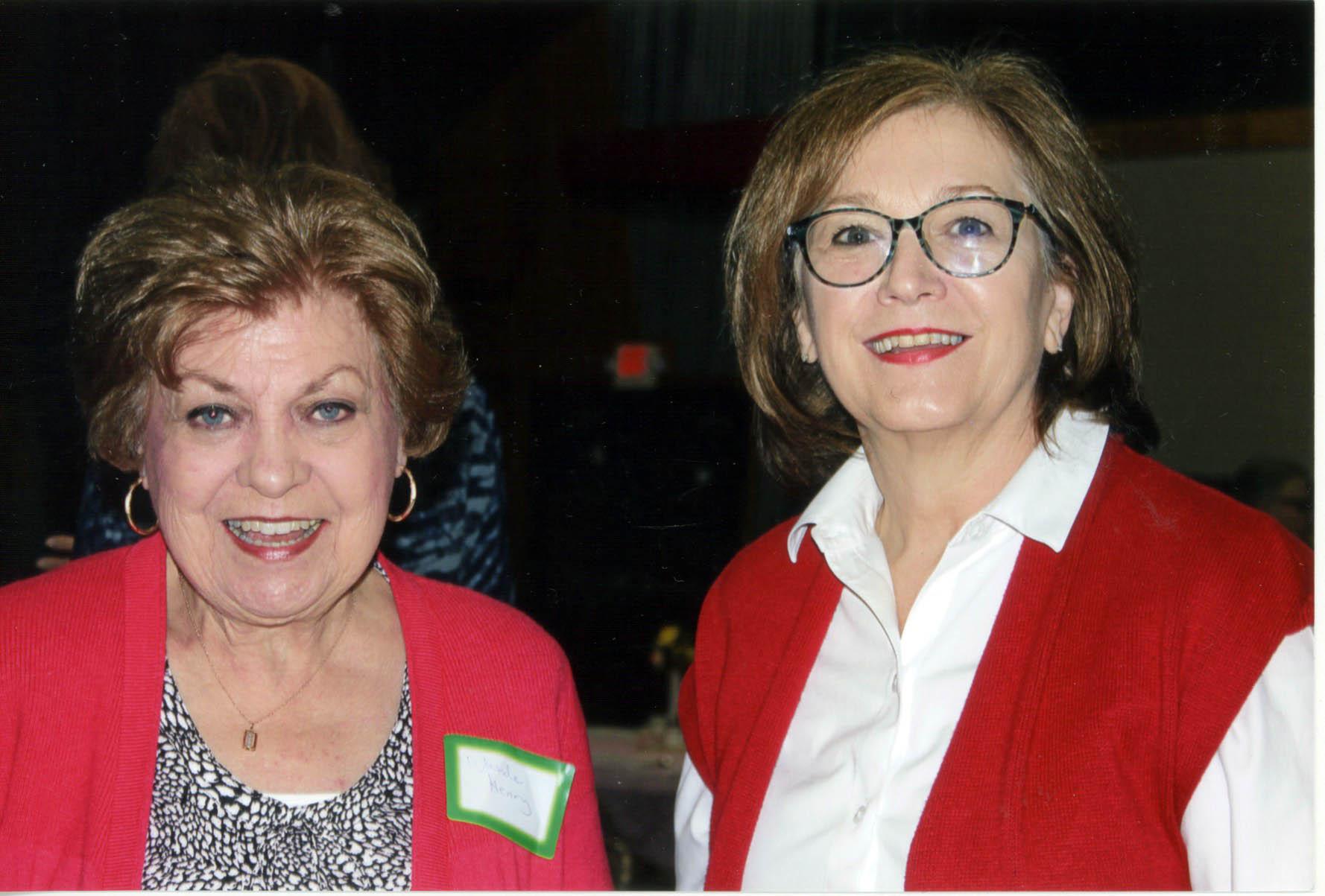 Wanda Henry and Doris Morris