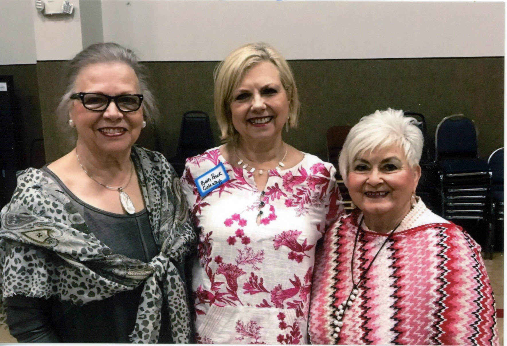 Lon Waters, Beth Pesek and Judy Davis
