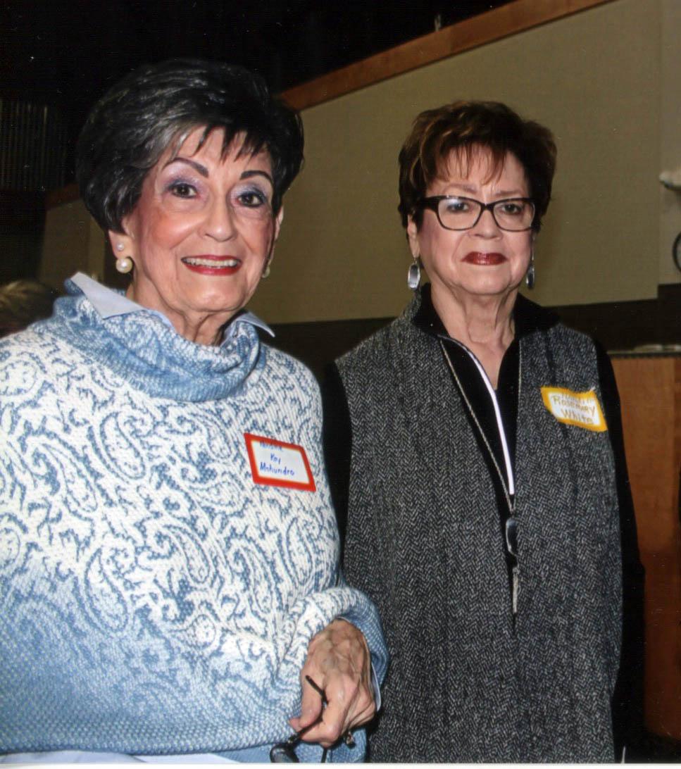 Kay Mohundro and Rosemary White