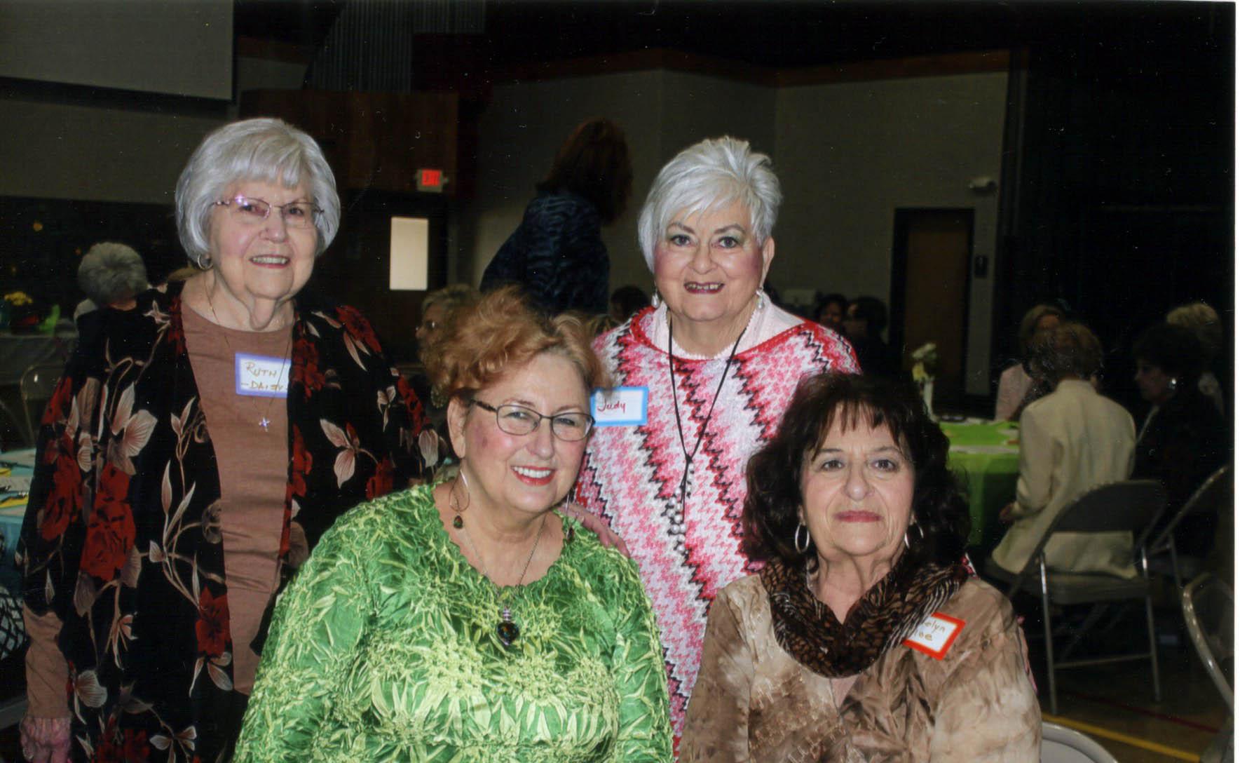 Ruth Hesser, Stephanie Smith, Judy Davis and Carolyn Folse