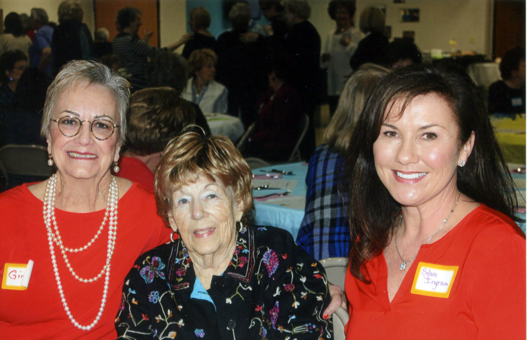 Ginny Dowdle, Wanda Ingram and Sylvia Ingram