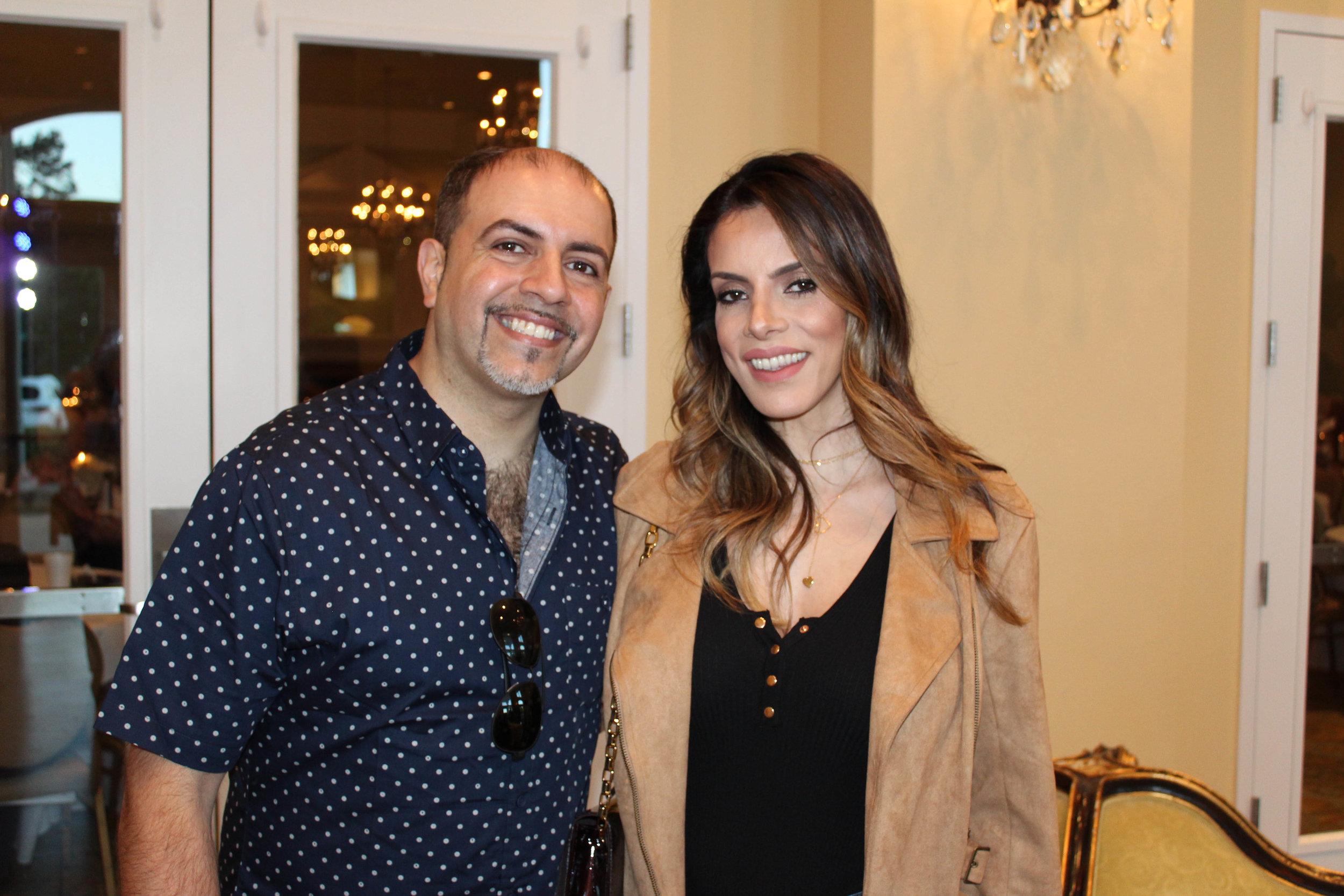 Dr. Hesham and Layla Hazin