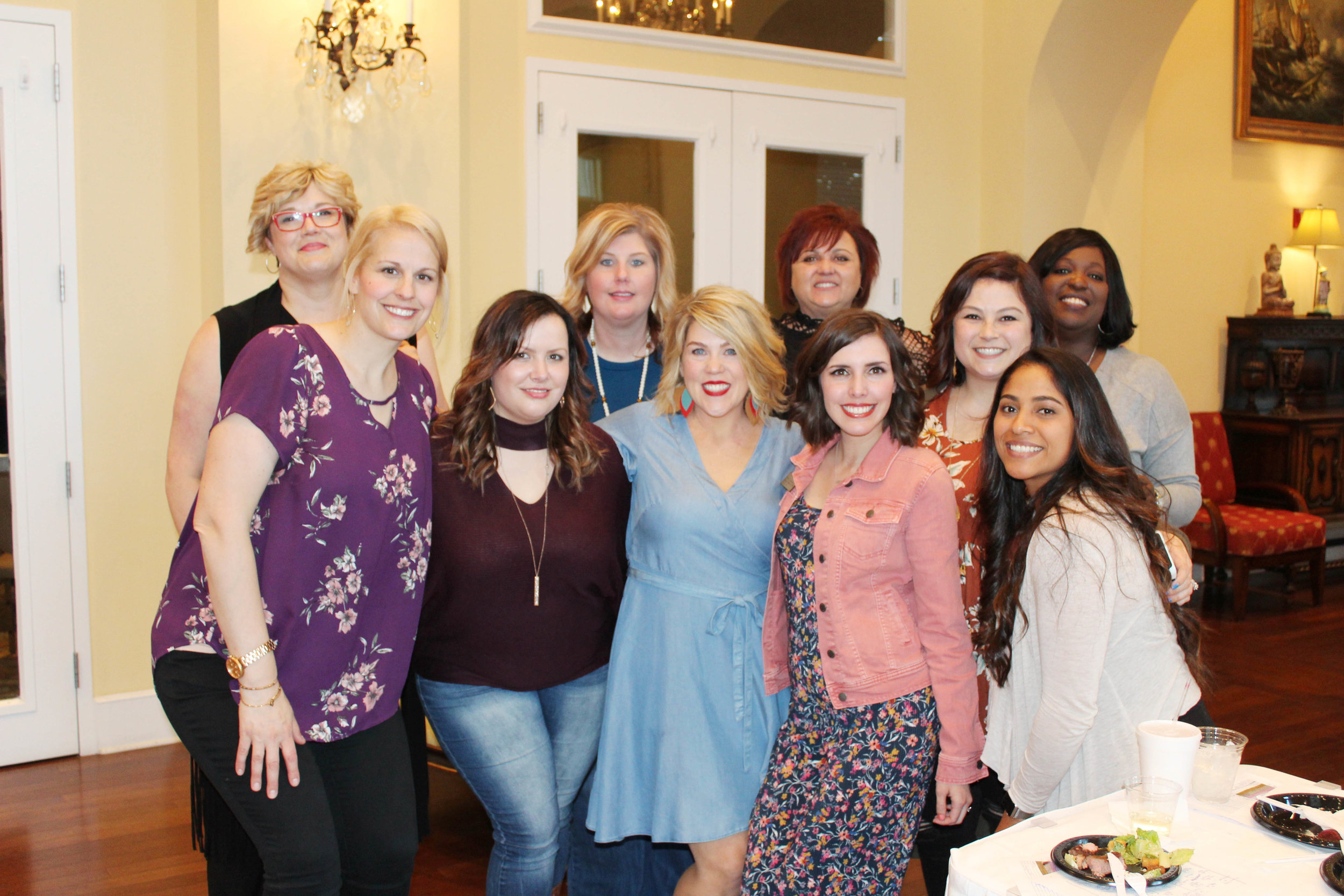 Joey Elliott, Maureen Fletcher, Jessica Kelley, Misty Honea, Brandy Eldridge, Malenda Cree, Kaleigh Dodson, Carly Rhyne, Marlene Magallon and Meah Wilson