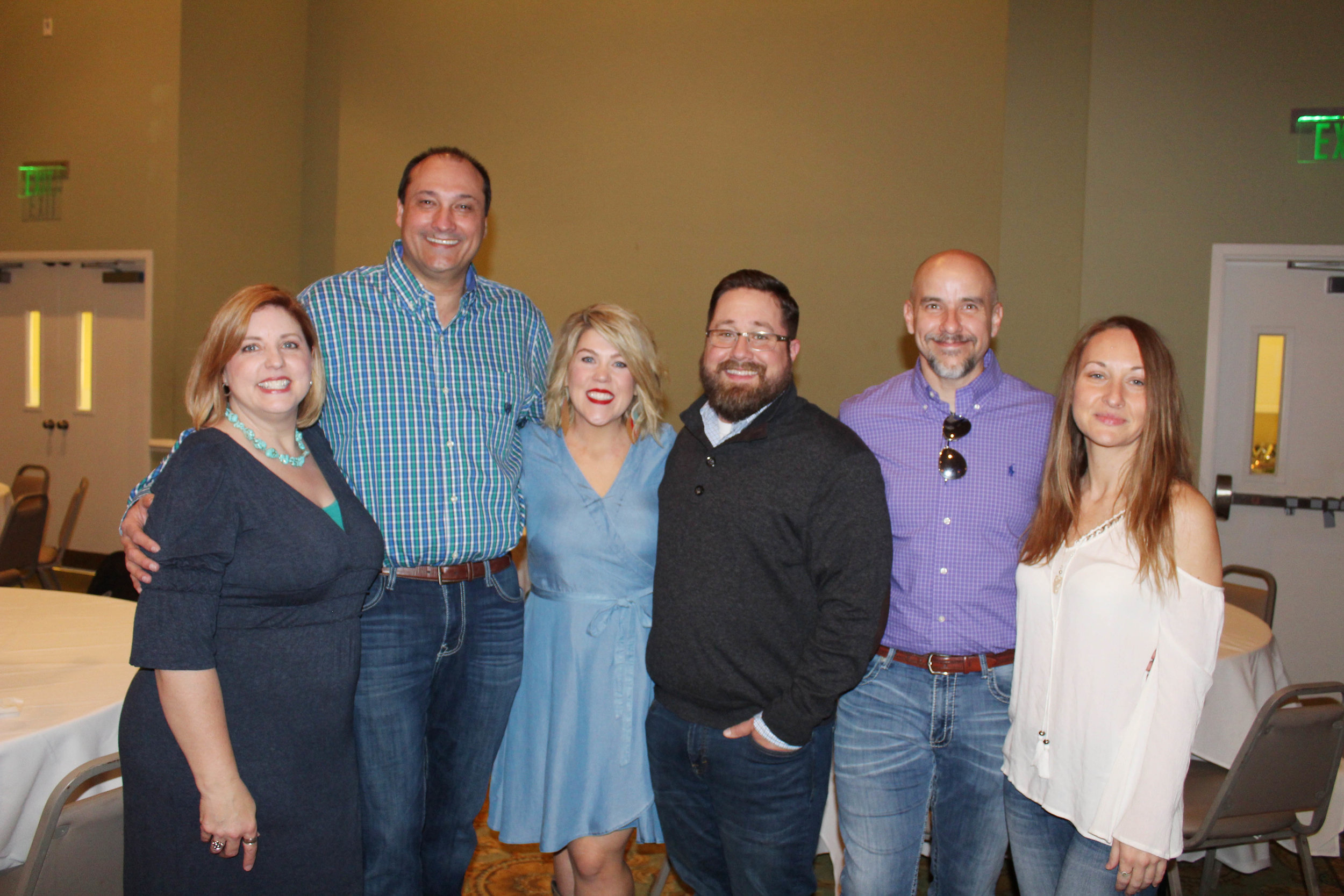 Jodie and Dr. Jason Smith, Brandy and Billy Eldridge and Randy Thomason and Brittany Carter