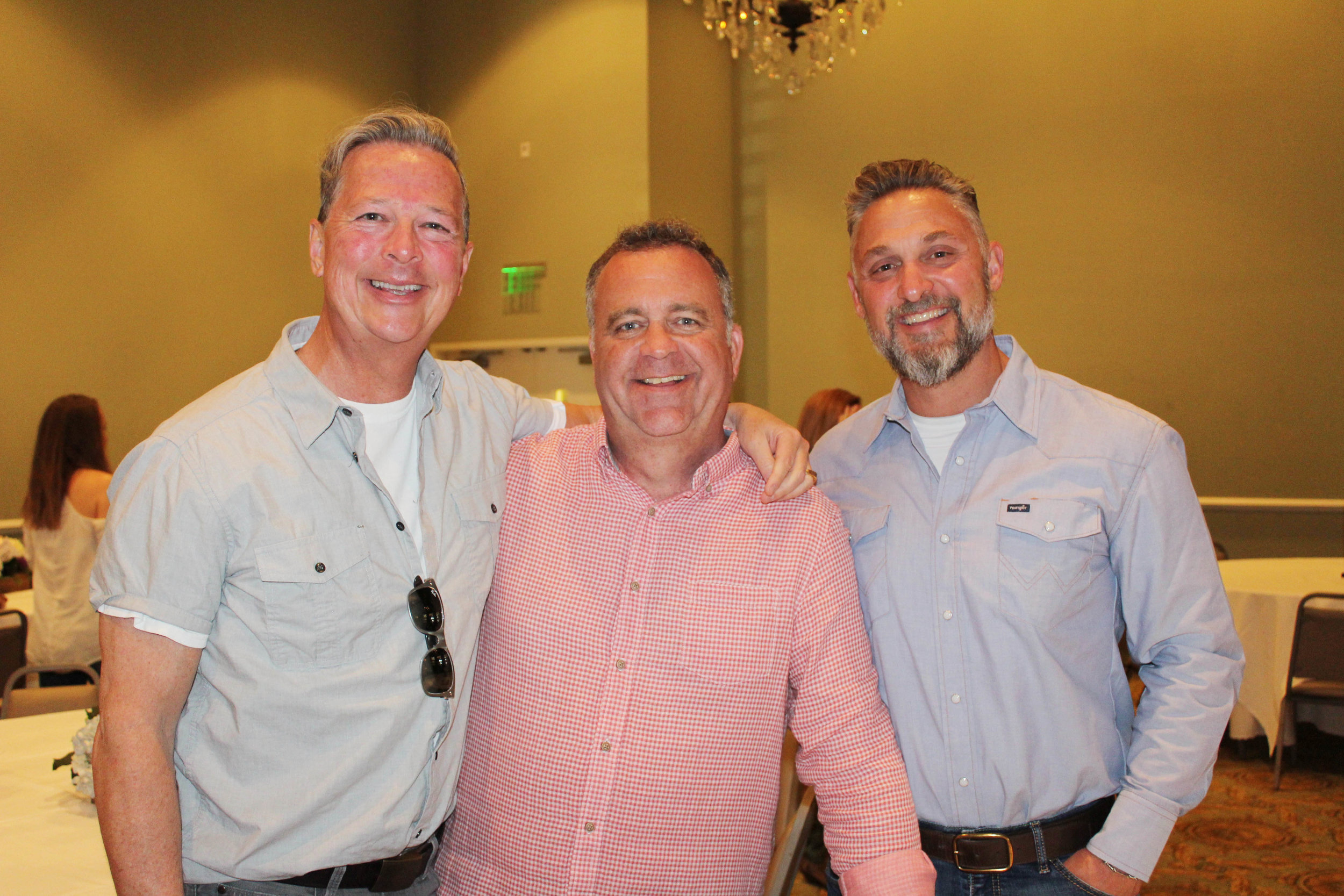 Jim Wyly, David McGonagill and Sean Rommel