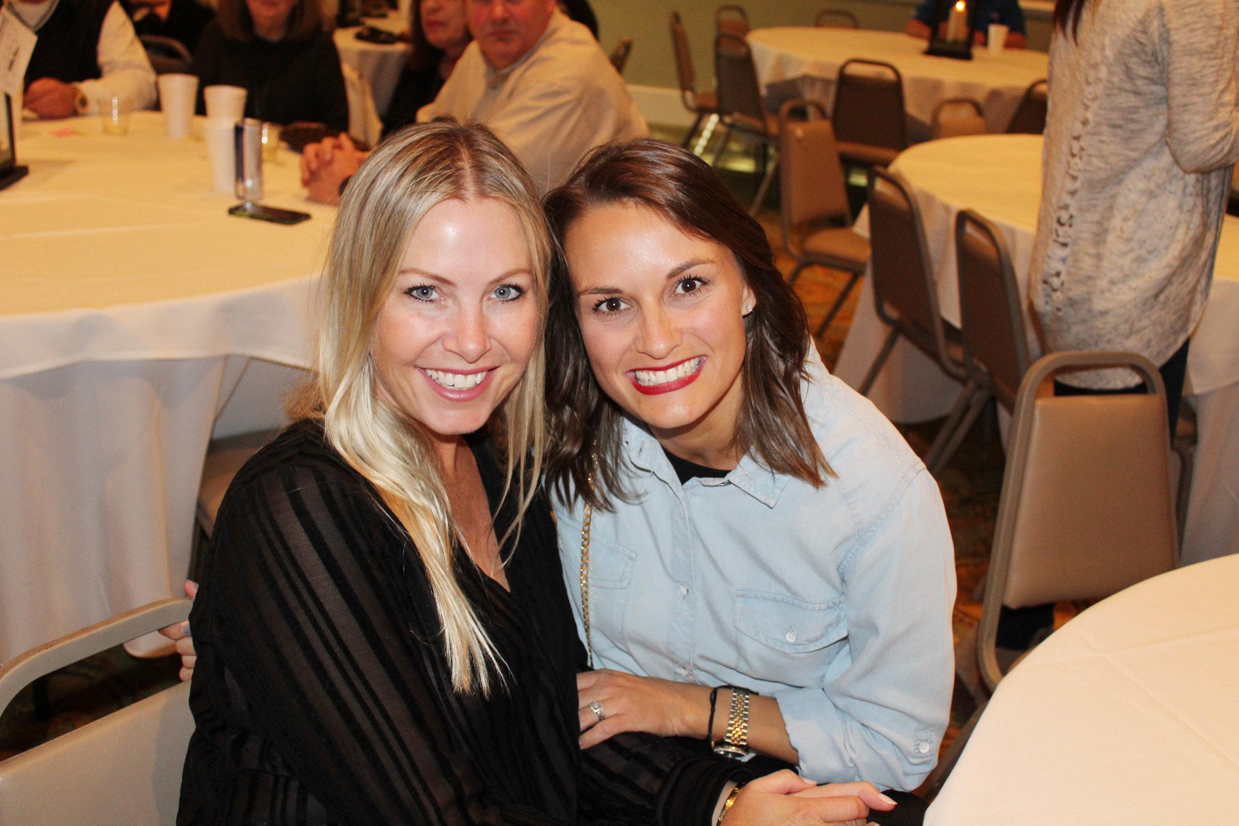 Whitney Fuqua and Corie Woodman