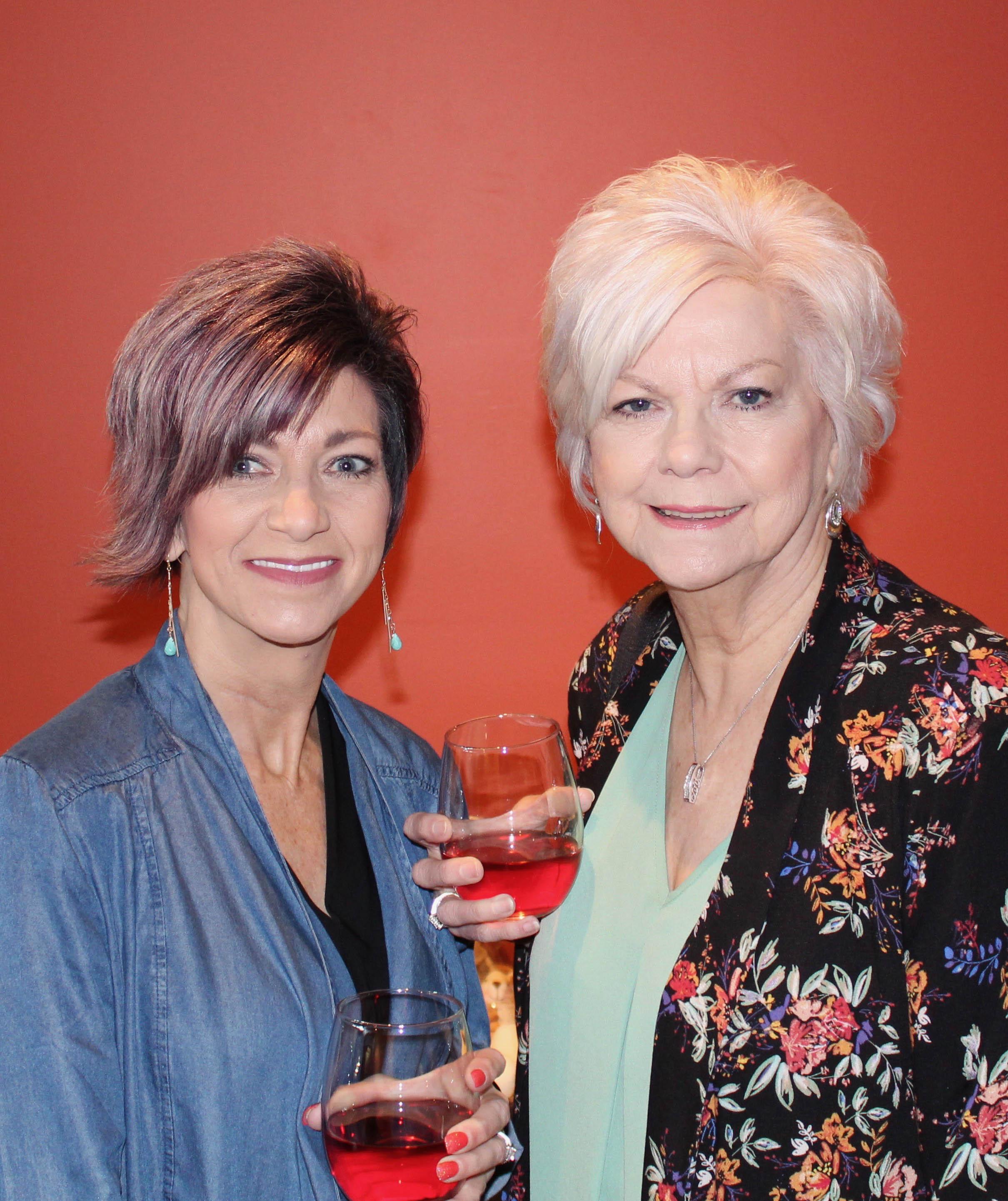 Carla Carroll and Freida Bettes
