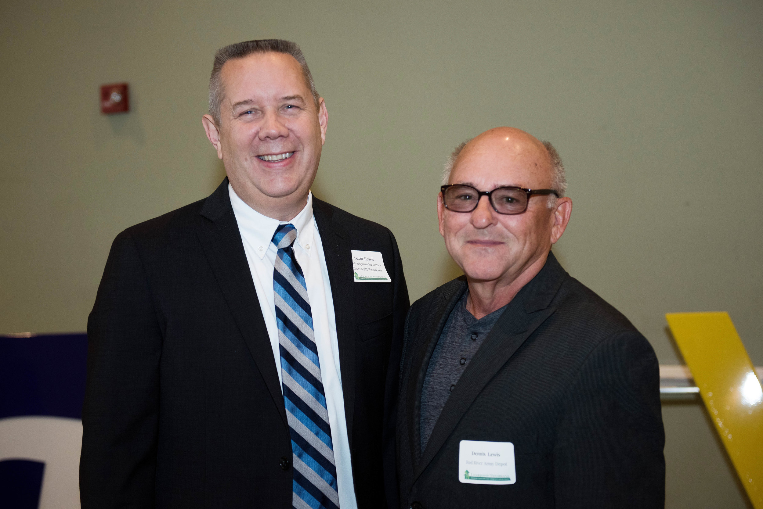 David Reavis and Dennis Lewis