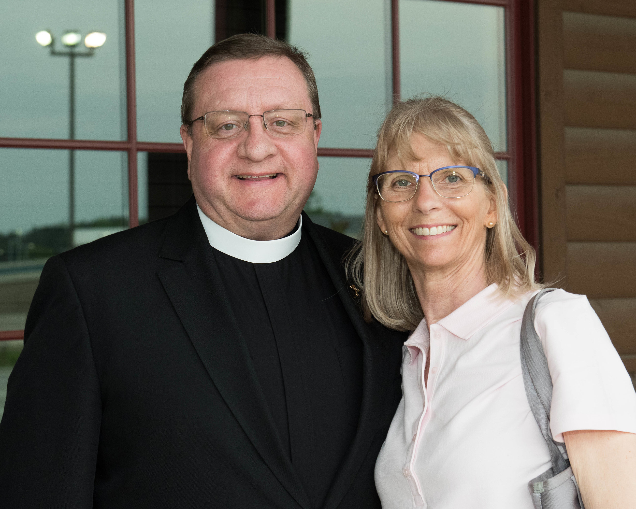 Fr. Richard and Diana Daly