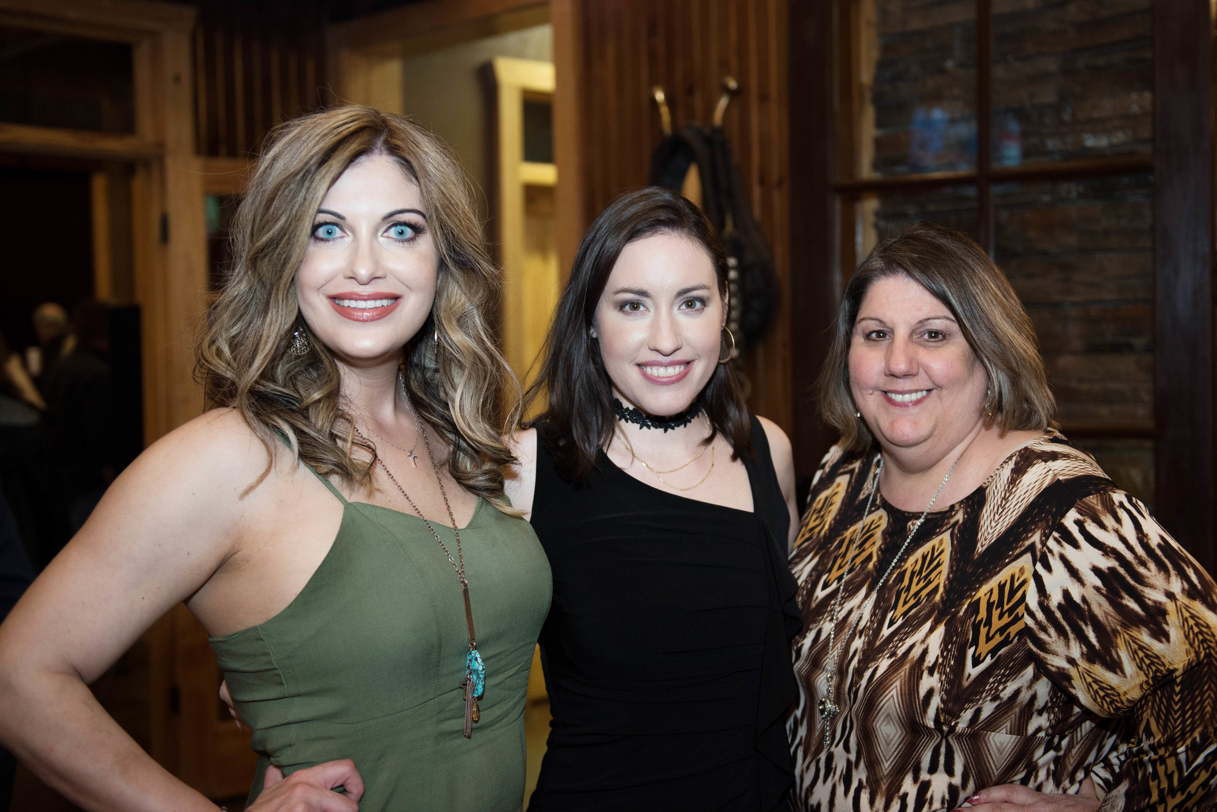 Erica Cain, Jennifer Lacefield and Karen Lansdale