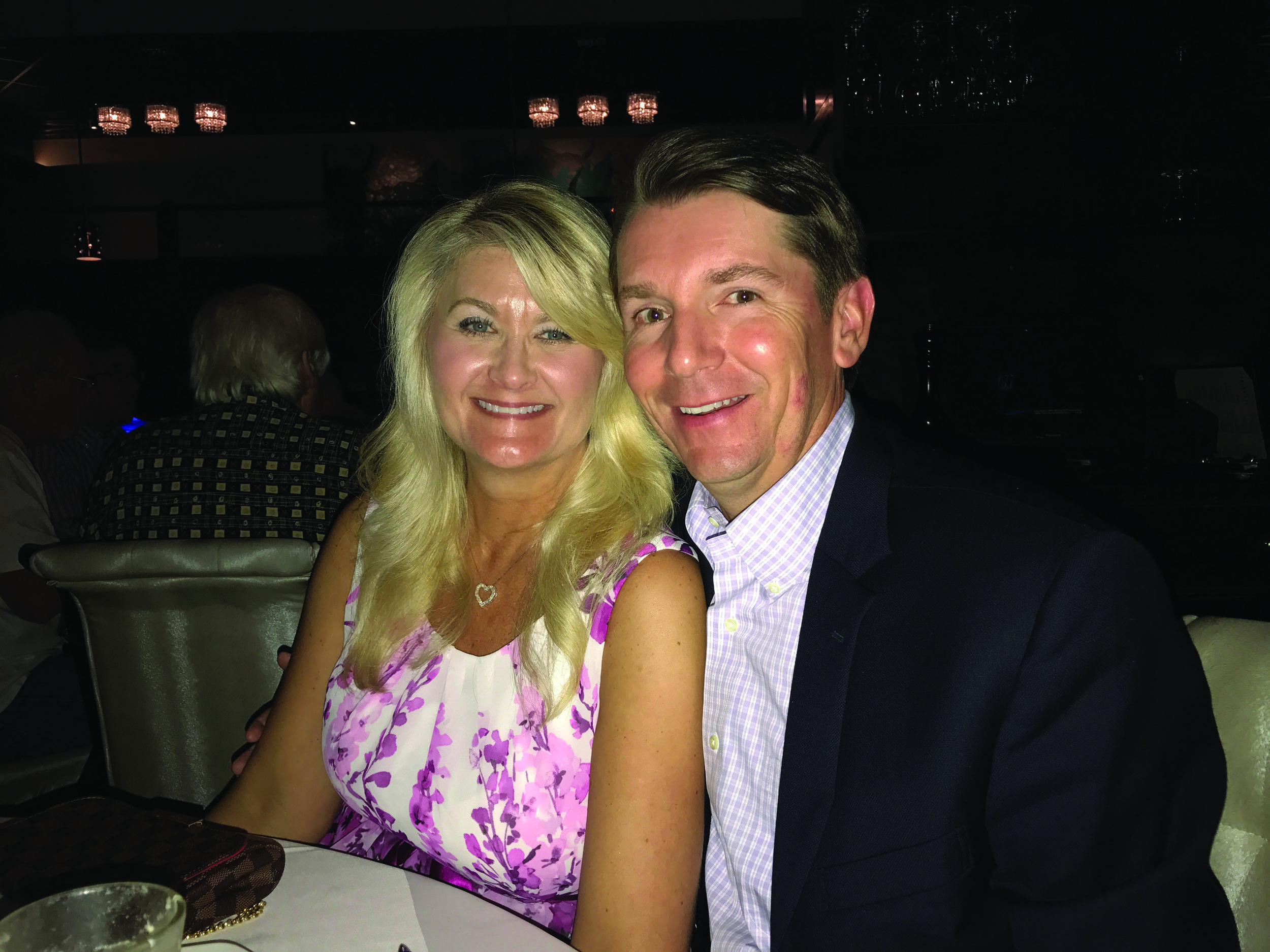 While celebrating their anniversary, Lisa and Rob dined at 677 Prime in New York.