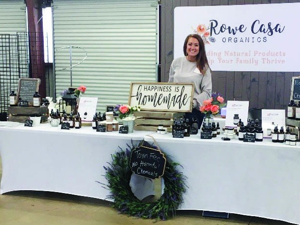 Having a booth at First Monday Trade Days in Canton, Texas, has proved very successful for Jill and has allowed the Rowe Casa Organics to reach many other vendors who are interested in carrying her products in their locations.