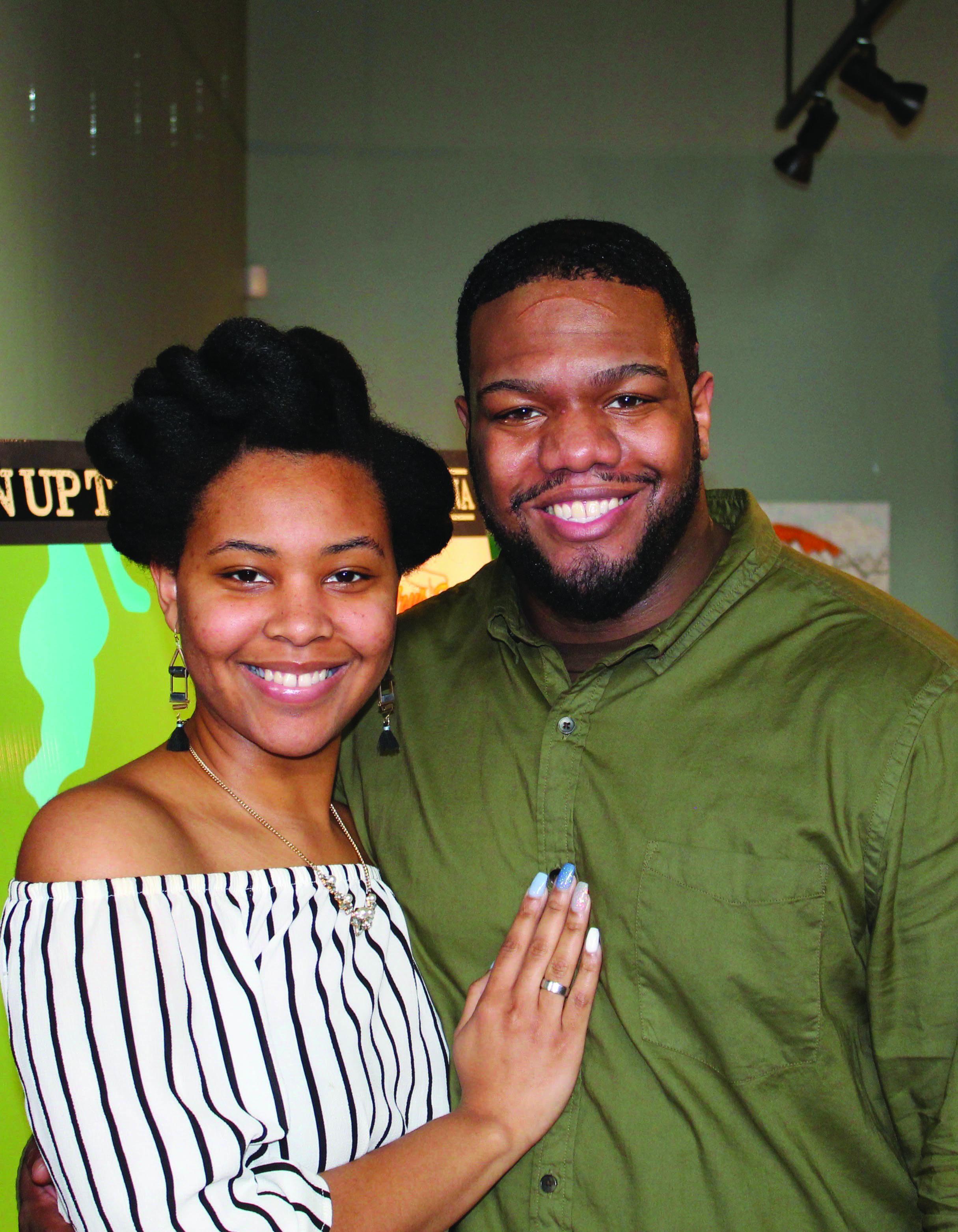 Dortisha and Kevion Johnson
