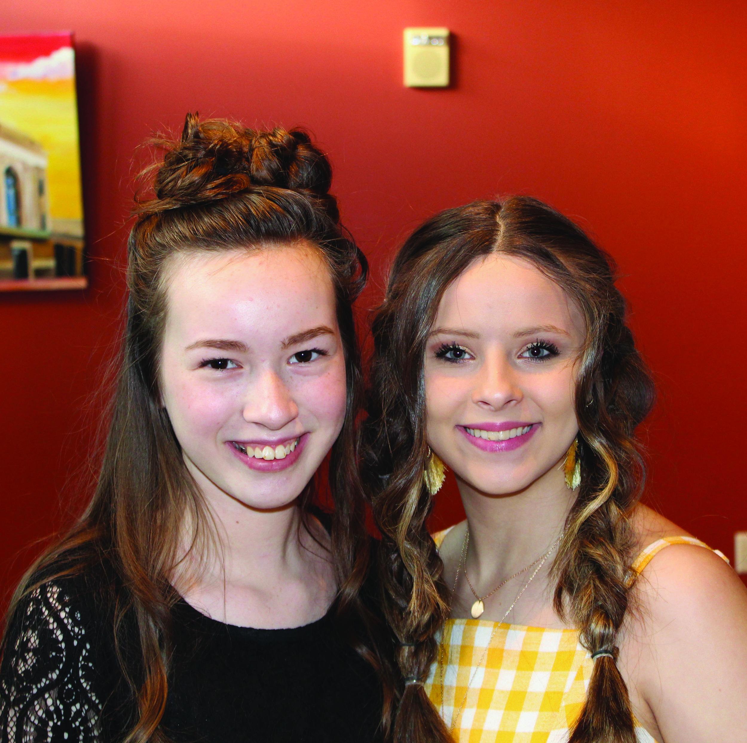 Araylia Simmons and Jayleigh Jones