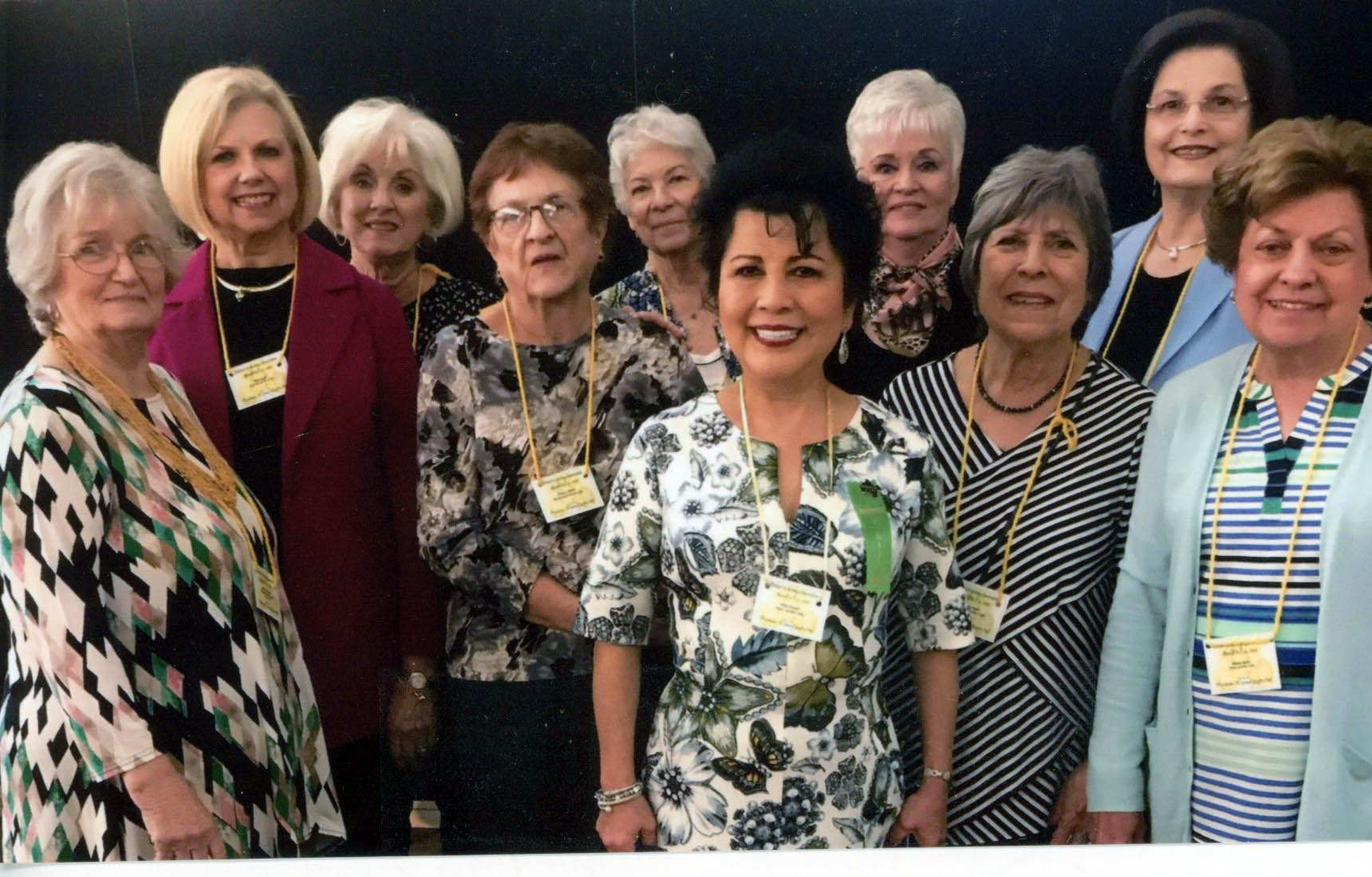 Judy Klimazewski, Beth Pesek, Sandra Tipton, Pat Woods, Janella Garrett, Yulin Brewer, Belinda Lum, Jan Scott, Devona Cowling and Wanda Henry