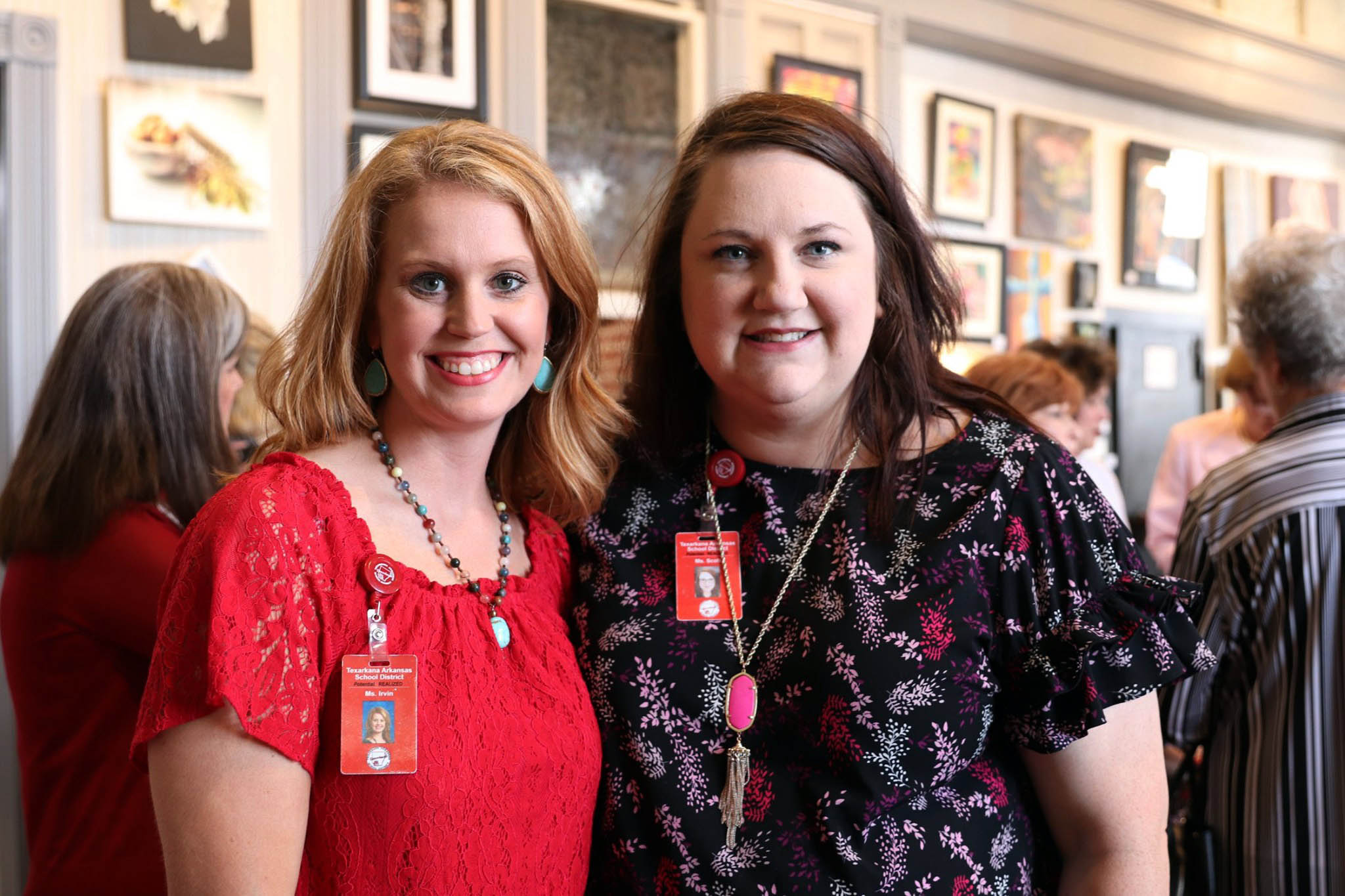 Christiane Irvin and Rachel Scott