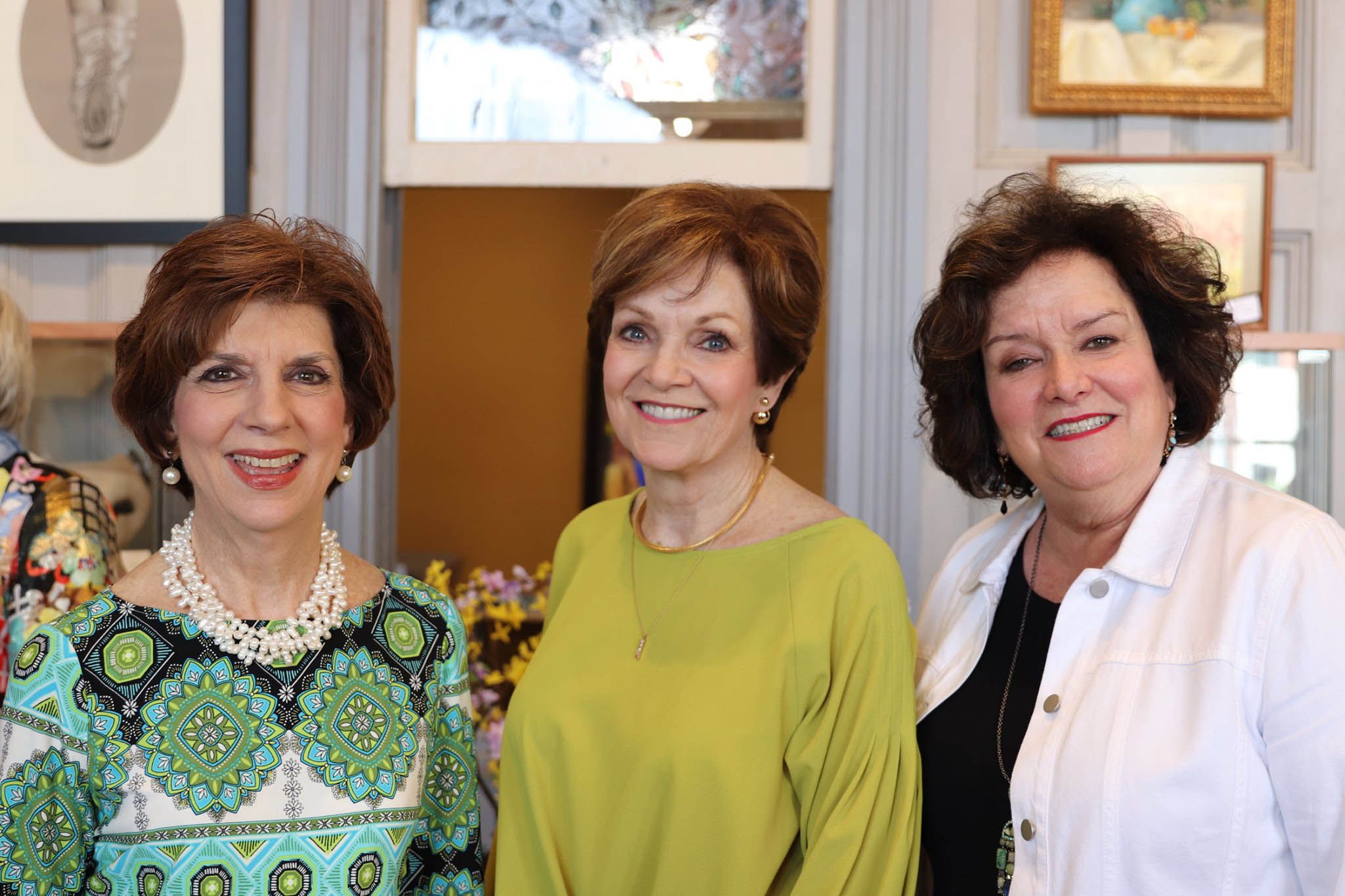 Junie Young, Linda Grace and Ann Johnson