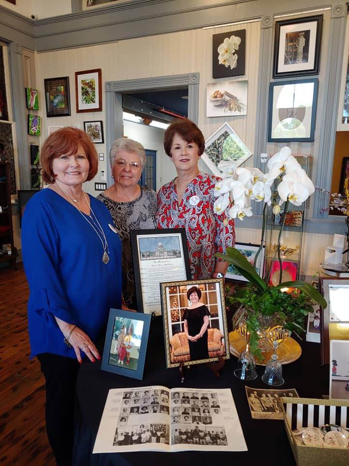 Kay Thomas, Georgia Hubnik and Carol Selph