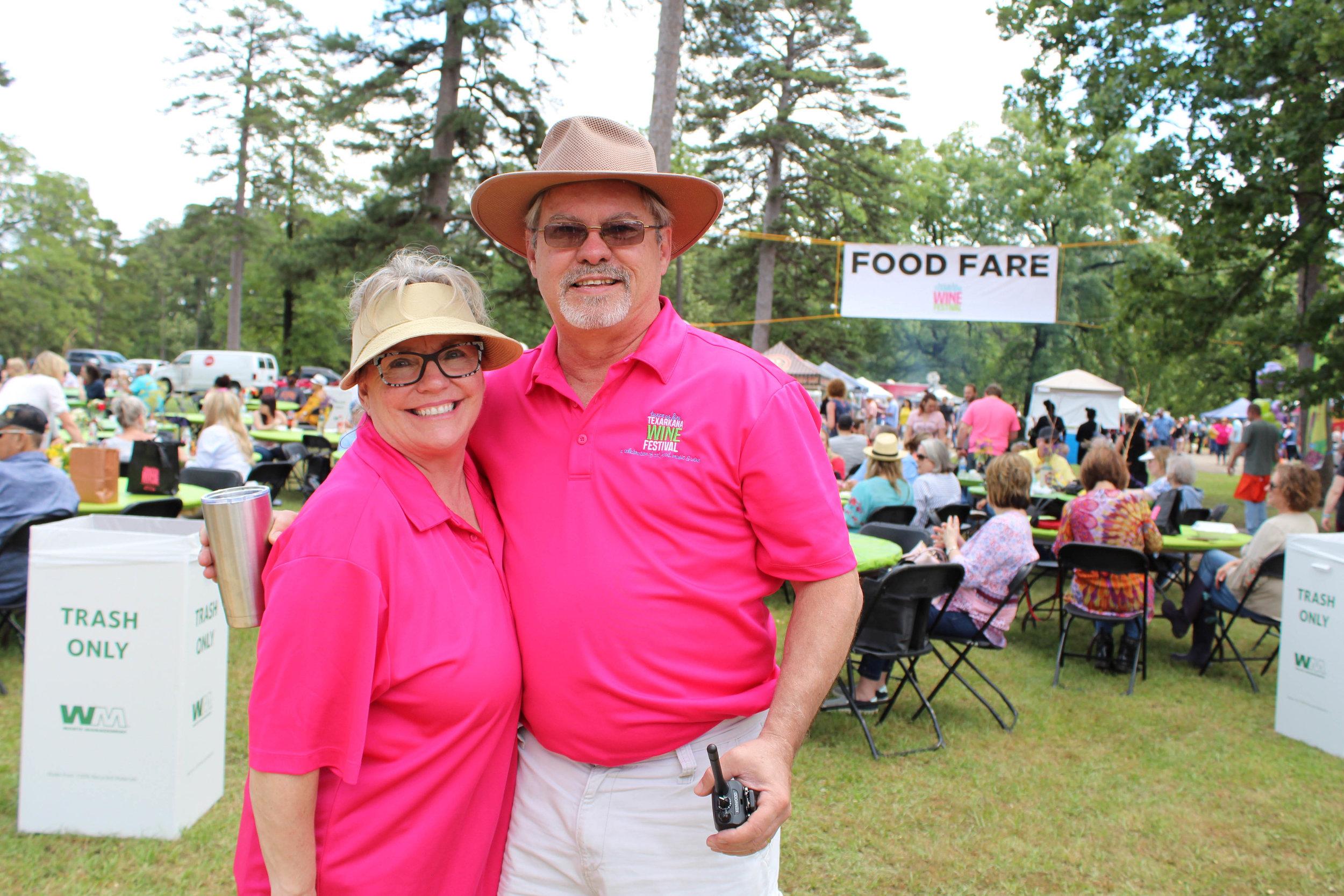 Mary Ann and Kip Pavey