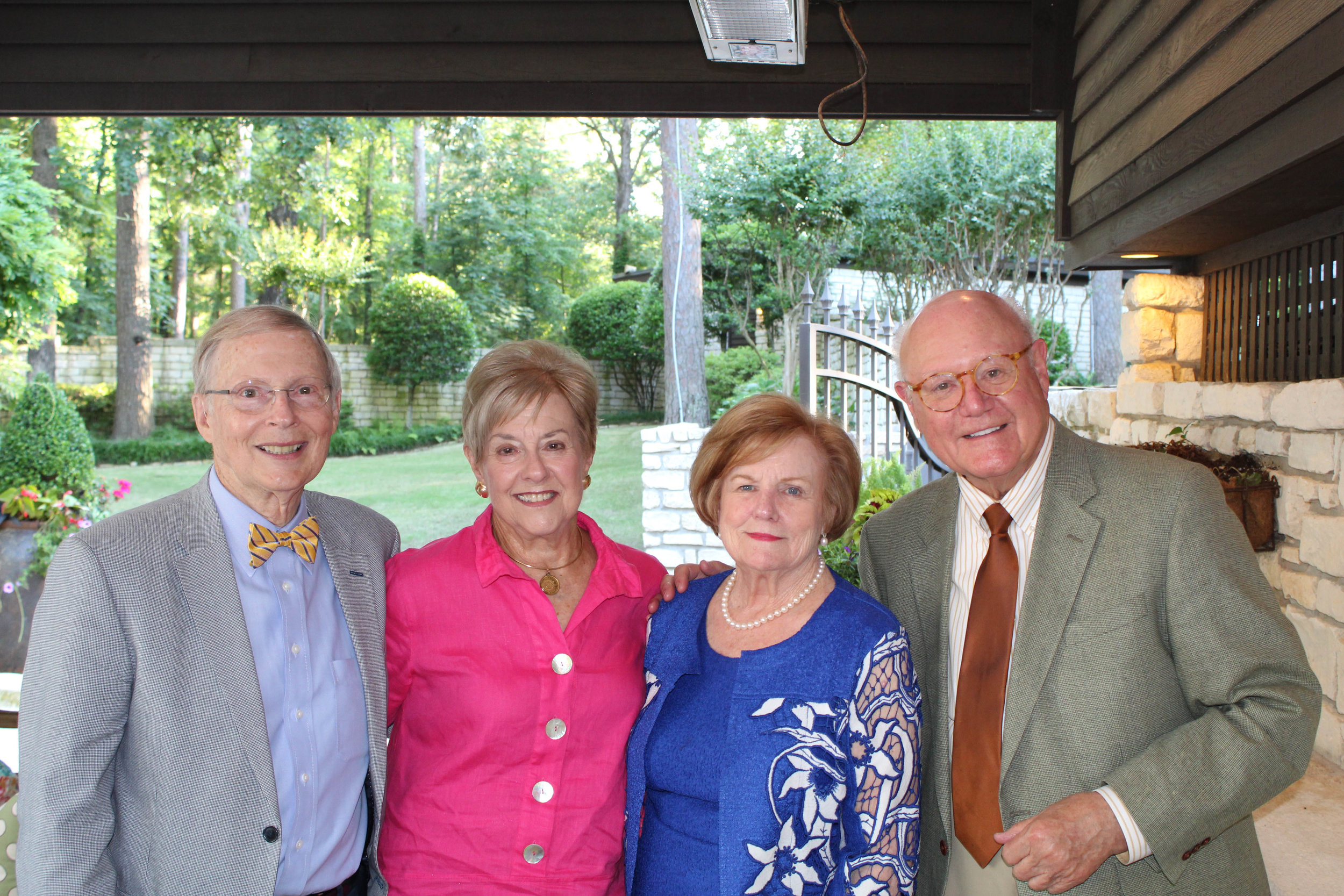 Bill and Rosaline Griffin with Kathleen and James Verschoyle