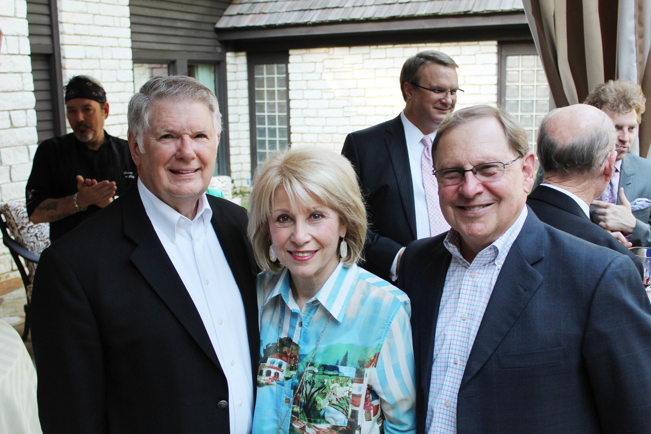 Don and Sue Howren with Danny Gray
