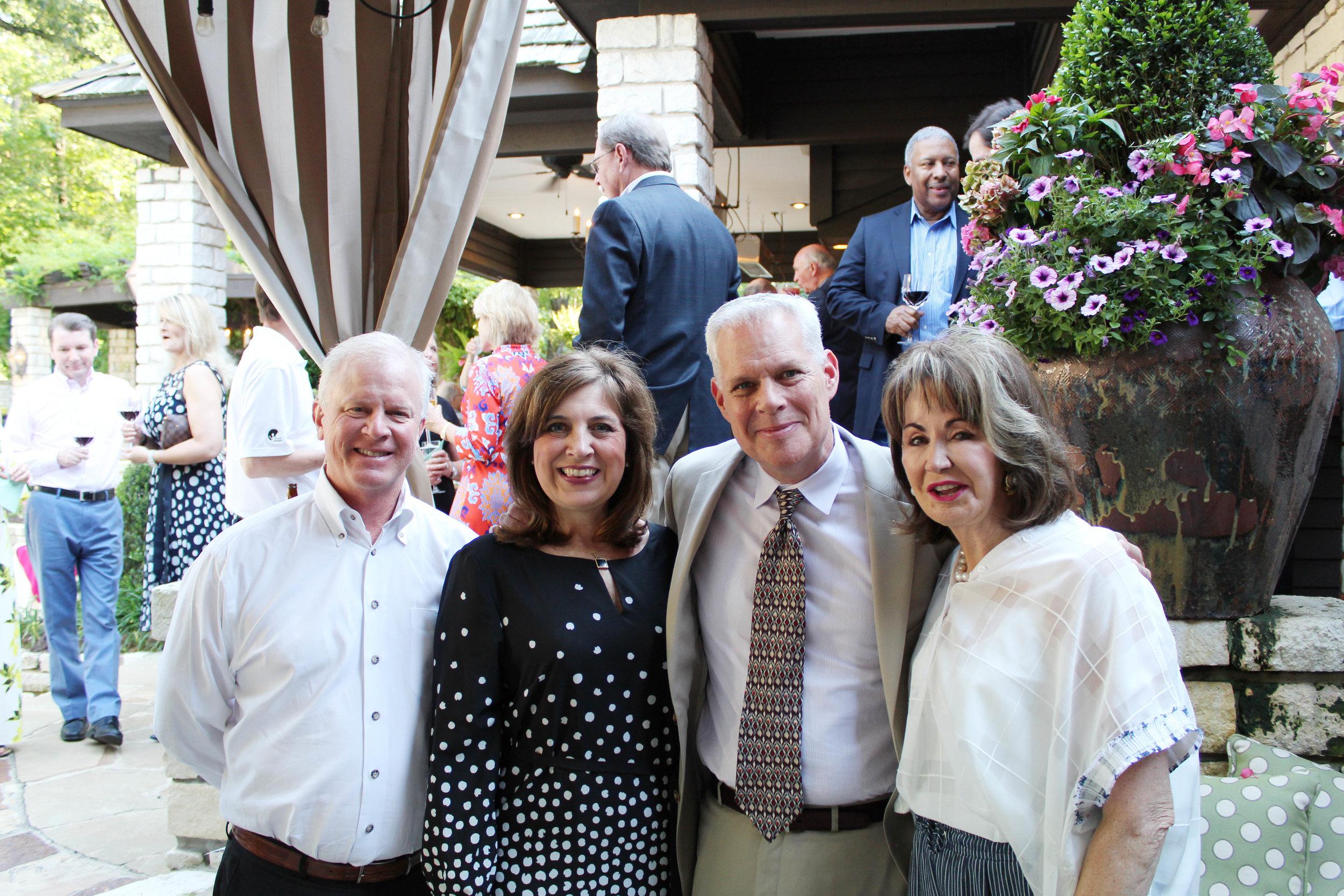 Jeff Prieskorn, Suzy and Robert Irwin and Judy Morgan