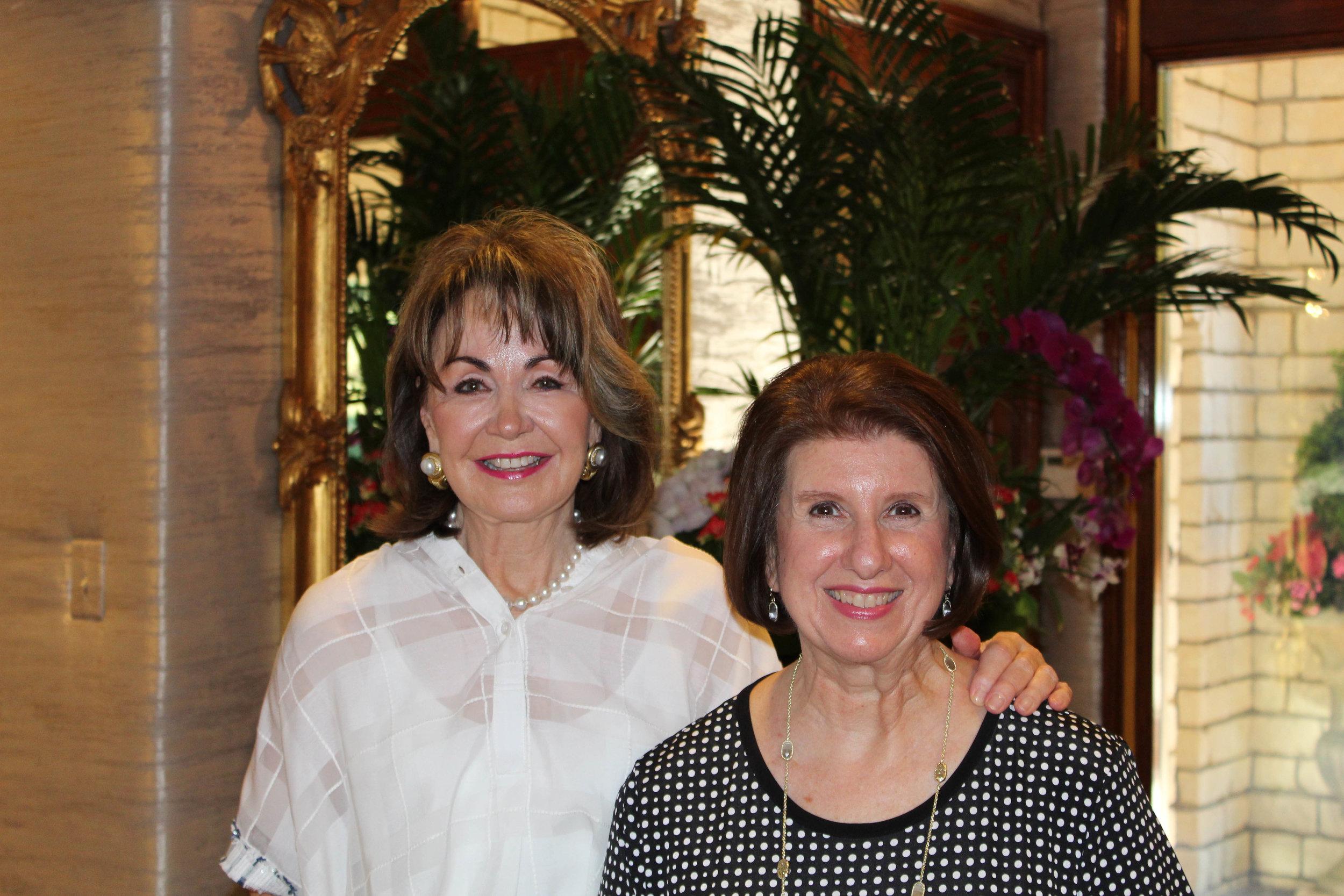 Judy Morgan and Remica Gray