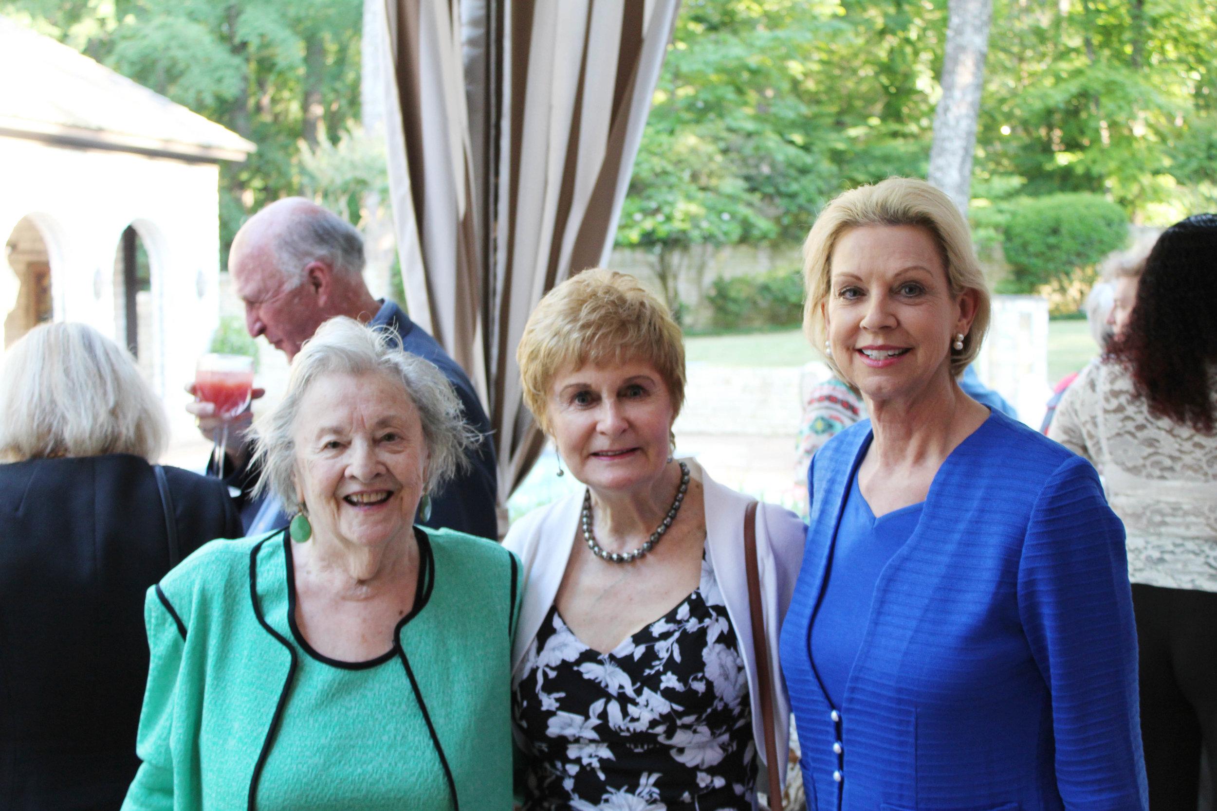 Pam McCoy, Jo Kahler and Nancy Lund