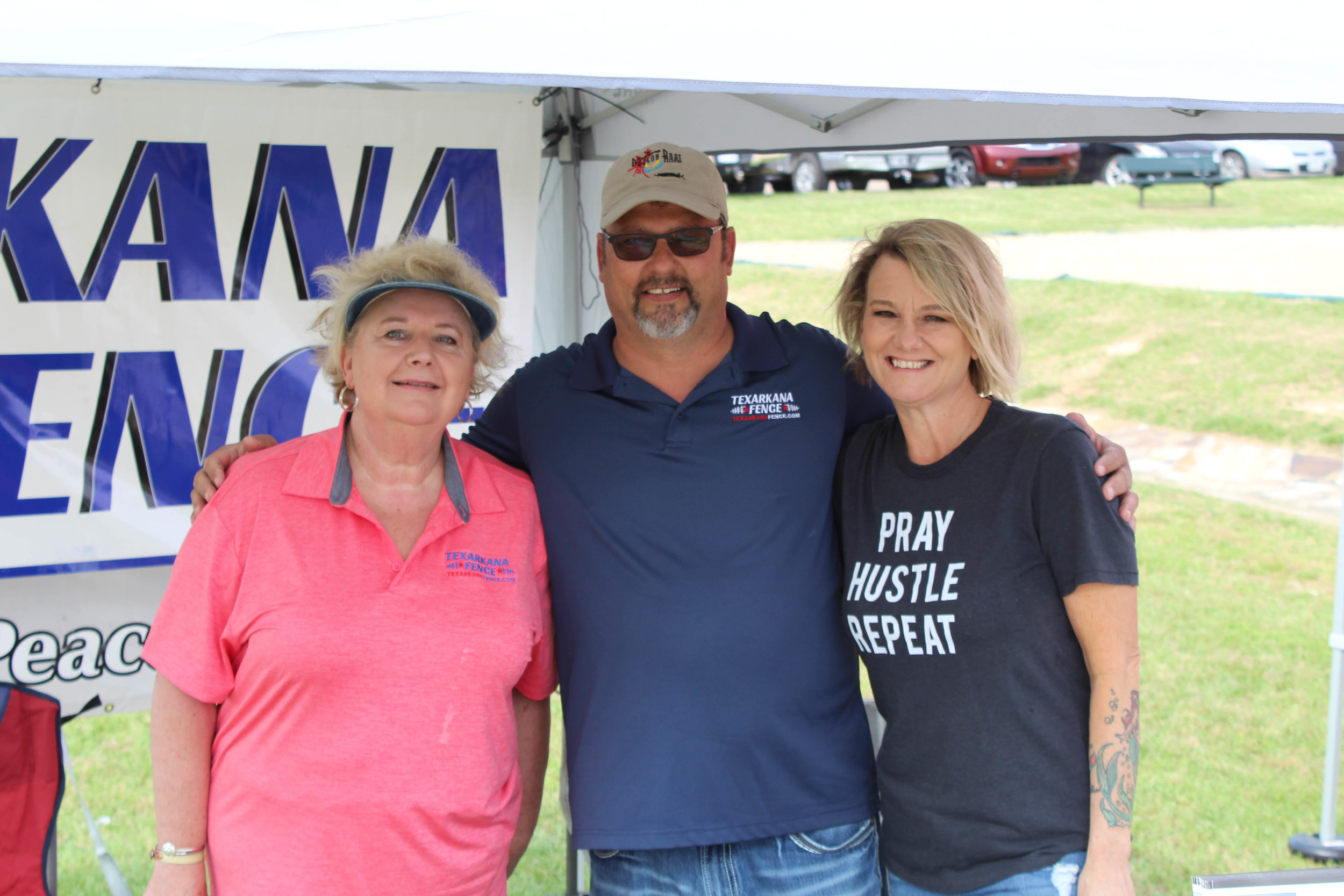 Rhonda Sangalli with Keith and Michelle Pace