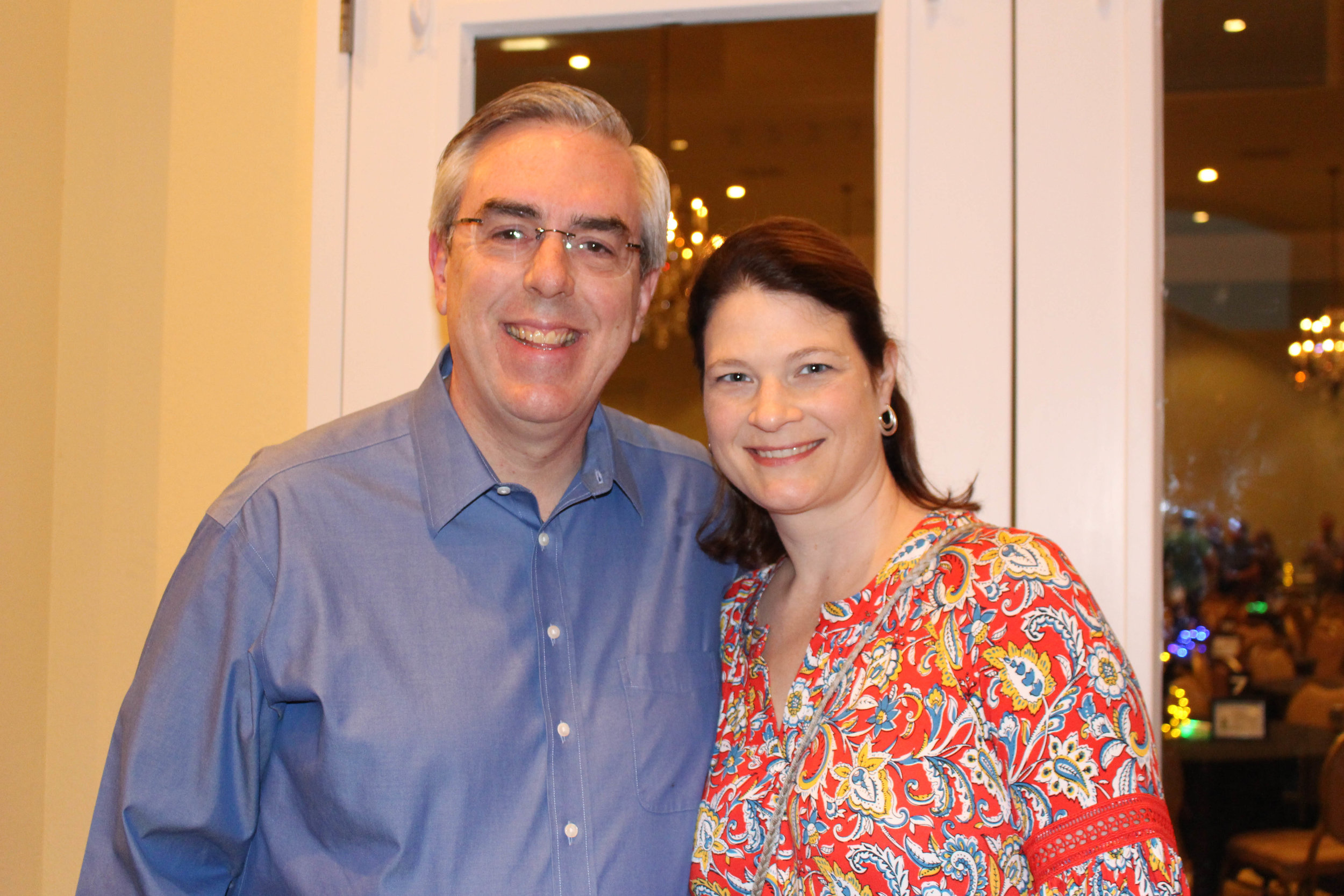 Dr. Brad and Laura Morgan