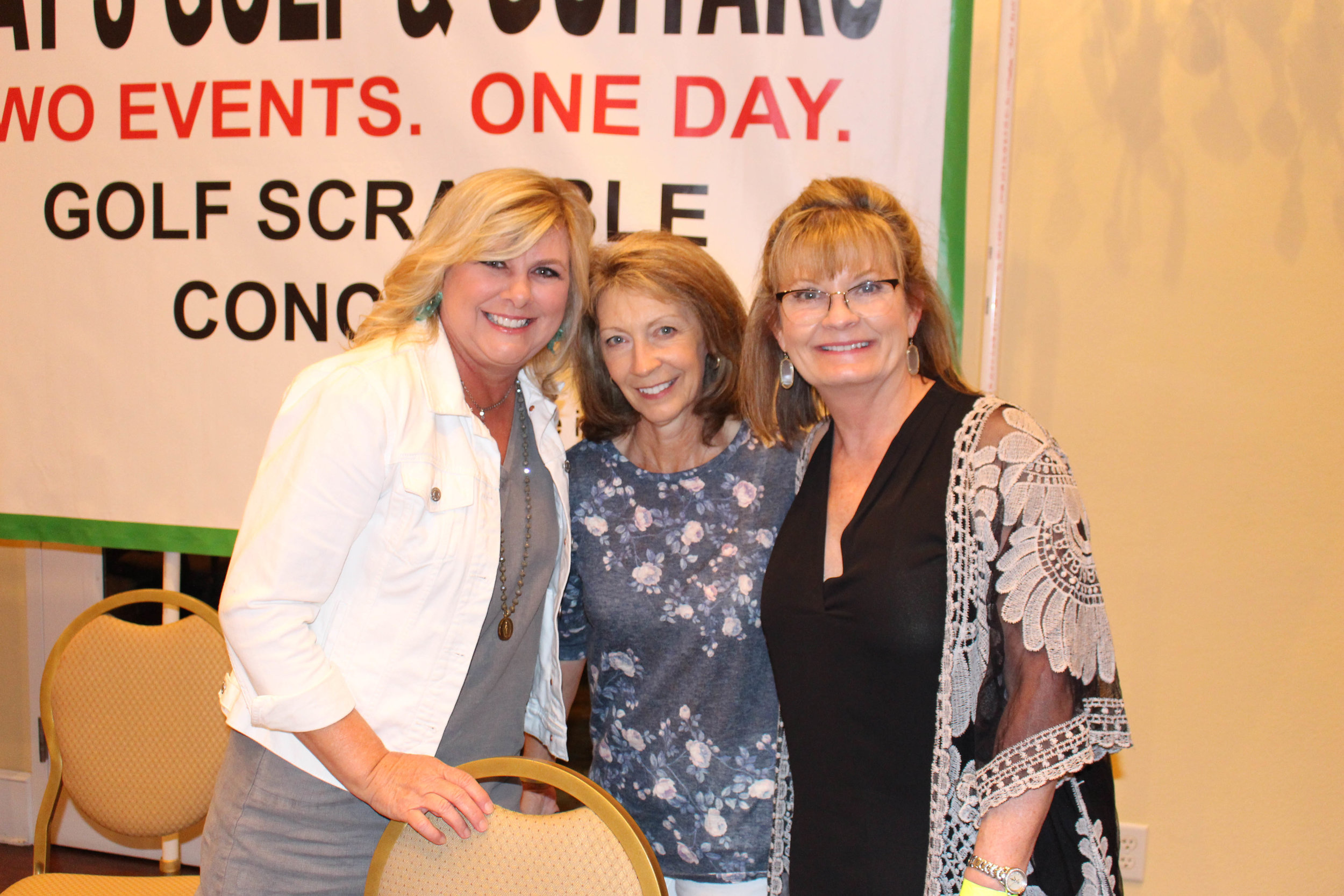 Sharon Ward, Bonnie Lamb and Brenda Sutton