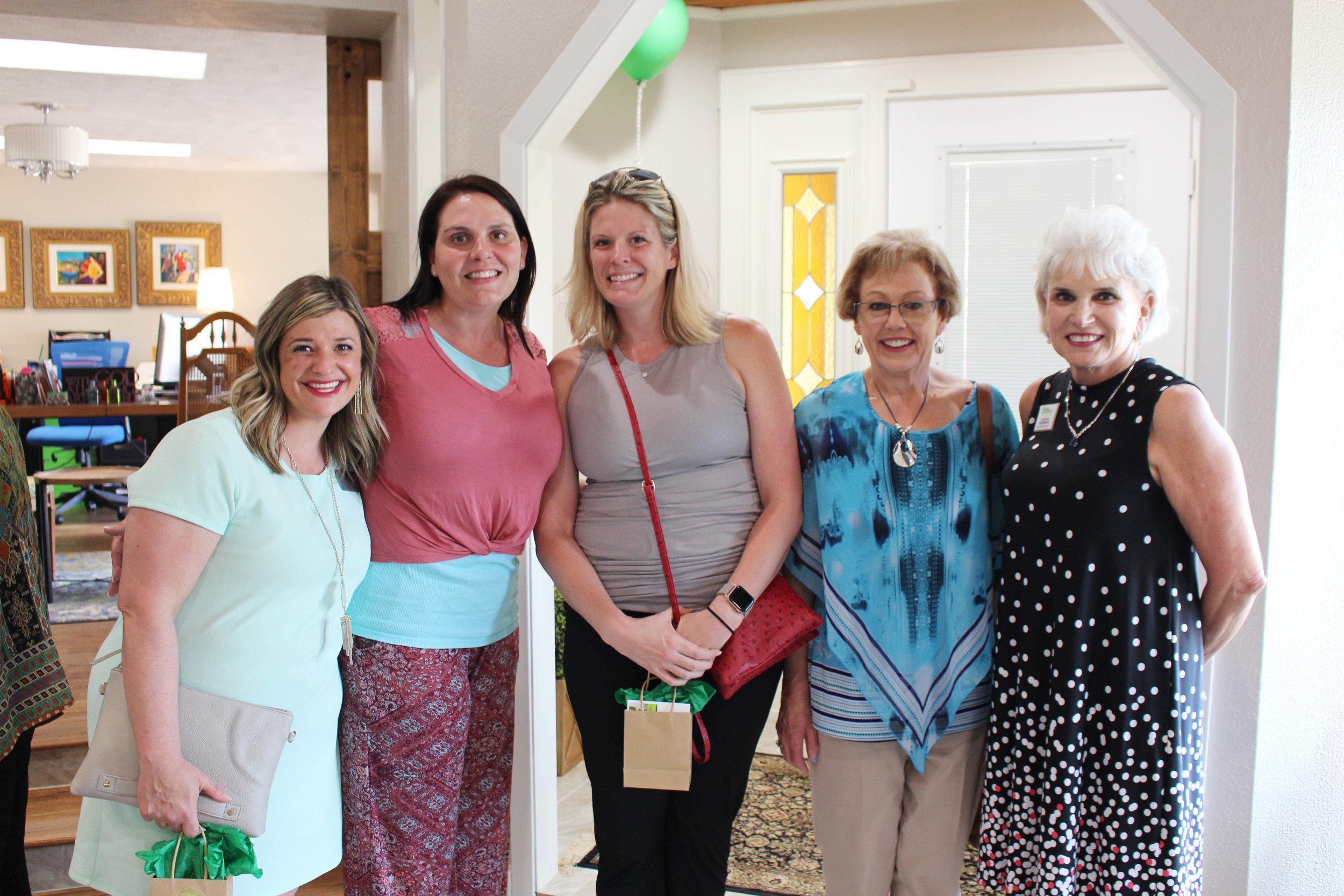 Jade Evans, Bridget Contreras, Katie Peek, Carolyn Faoliu and Teresa Liepman