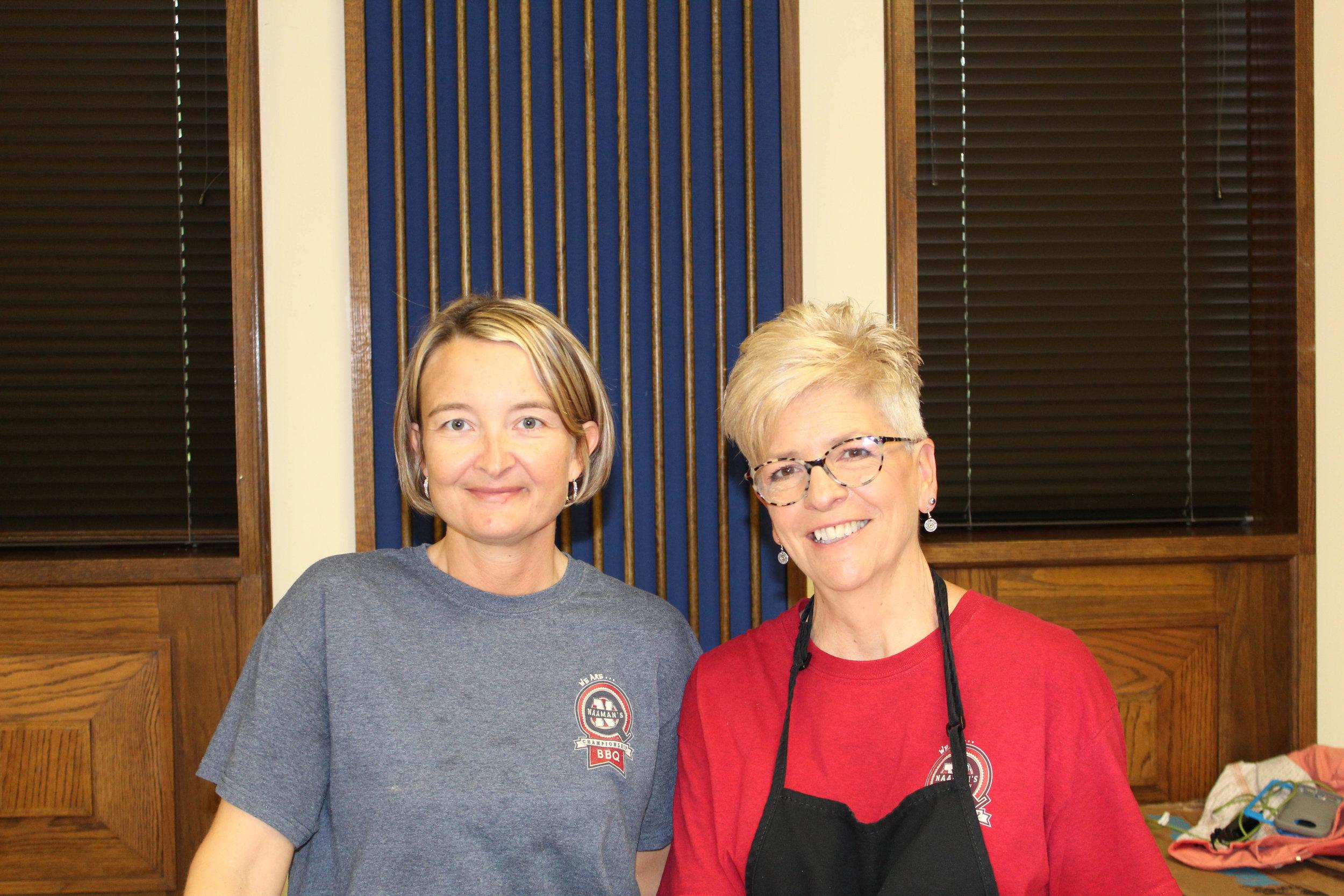 Jennifer Keener and Patti Neaves