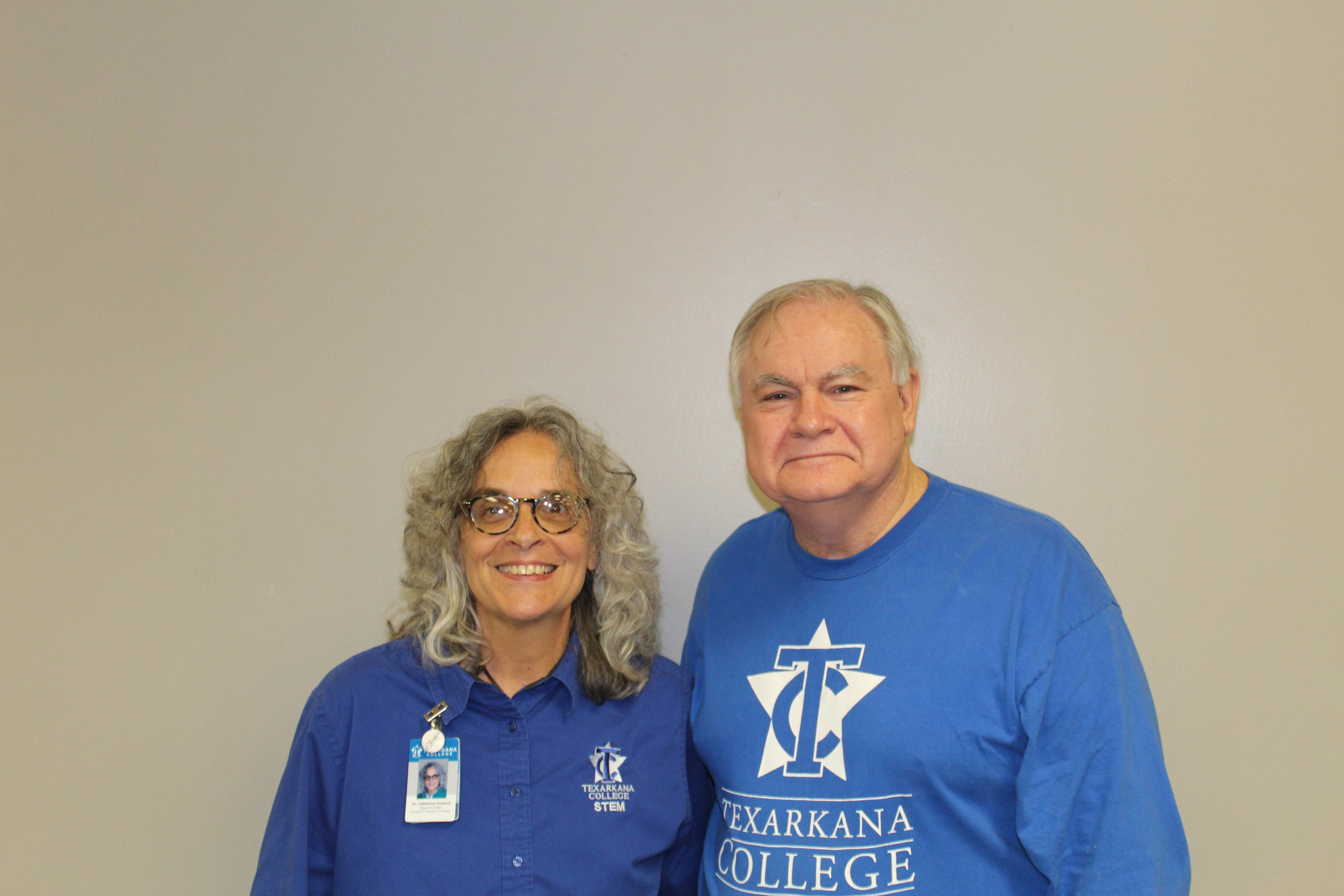 Dr. Cat Howard and Delbert Dowdy