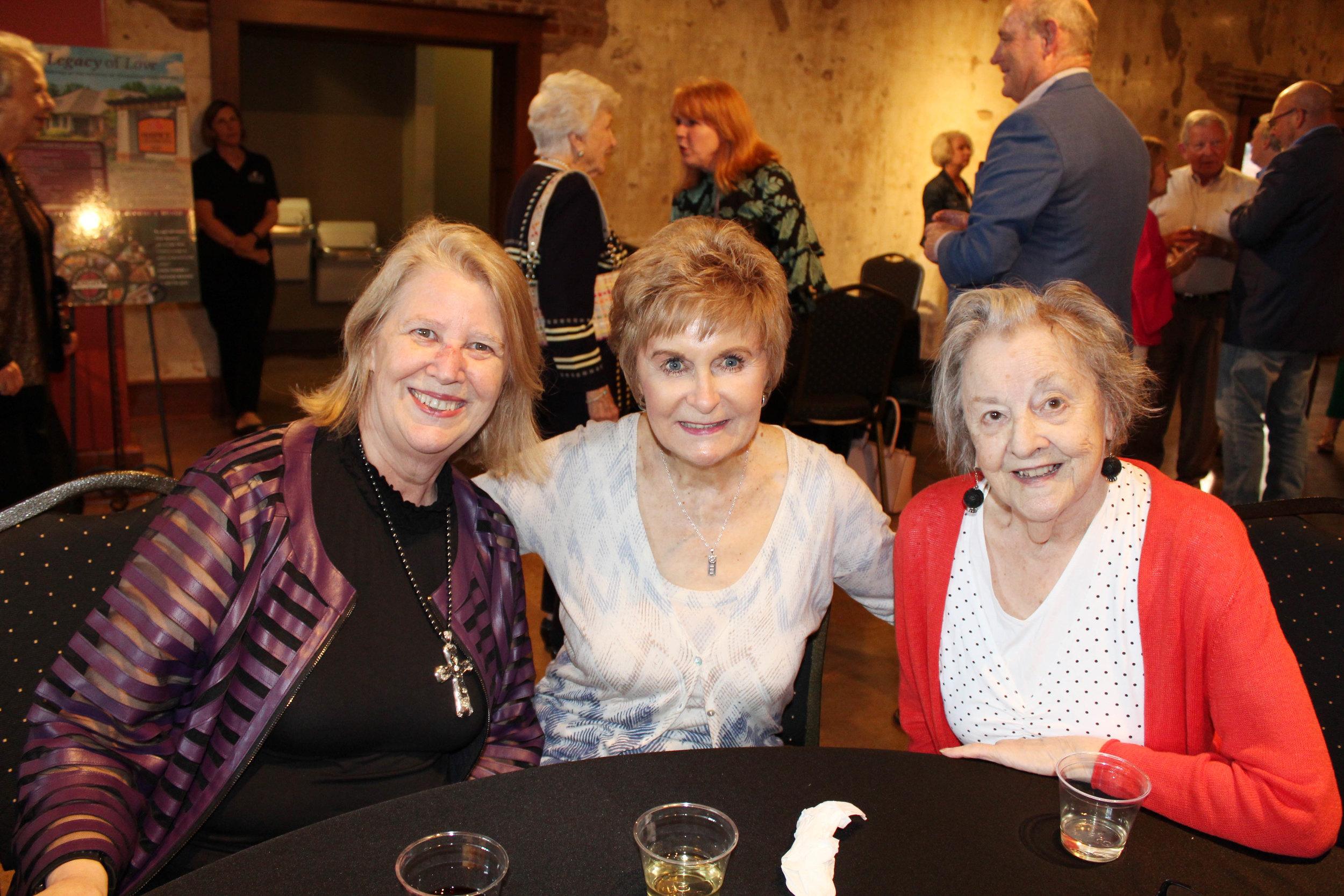 Susan Stanley, Jo Kahler and Pam McCoy