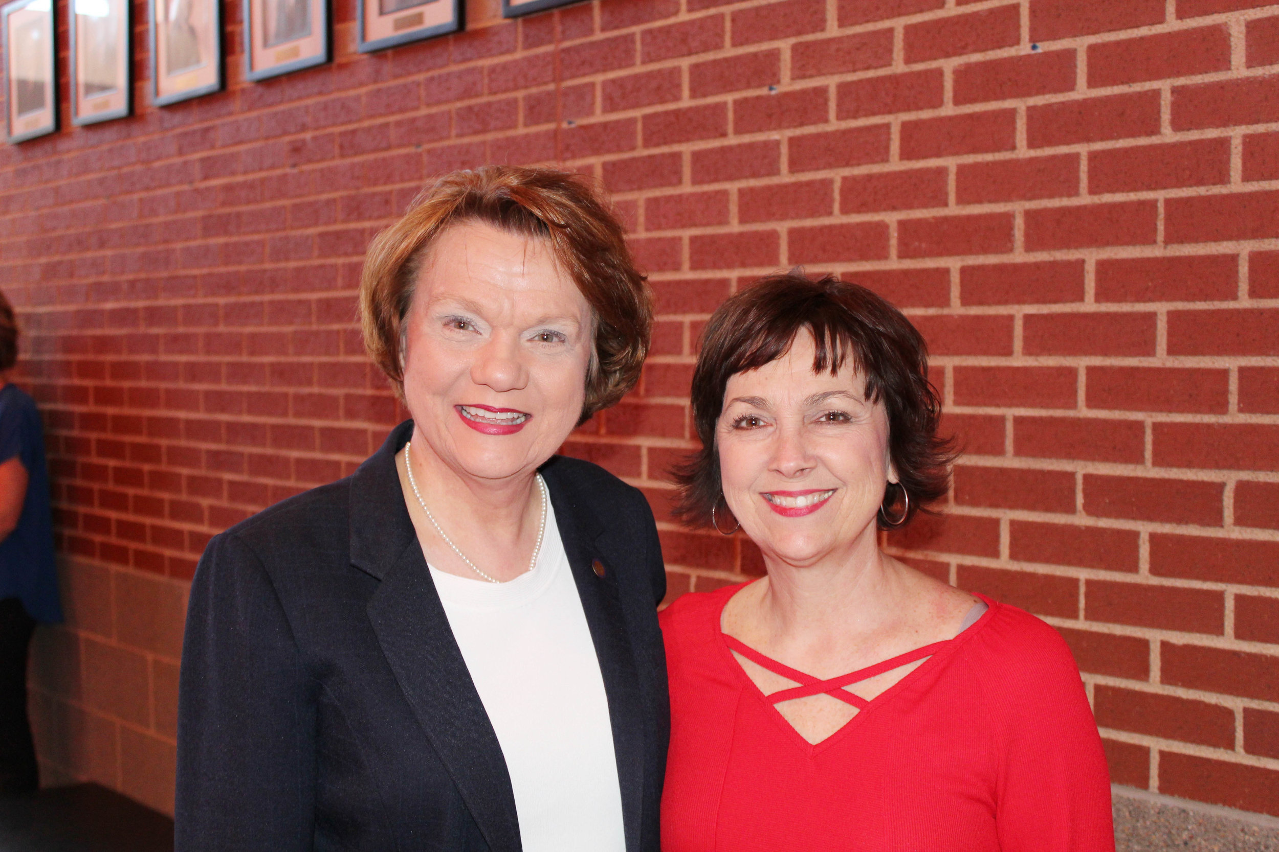 Rep. Carol Dalby and Shelby Brown