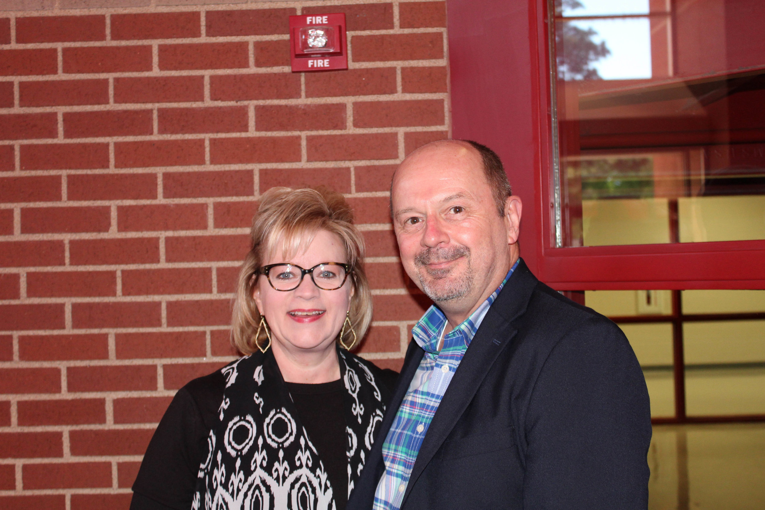 Carol Miller and Paul Nix