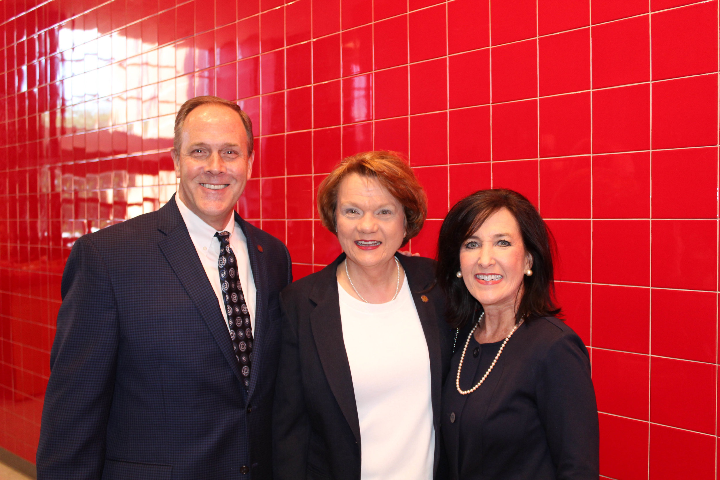 Rep. Les Warren, Rep. Carol Dalby and Pam Warren