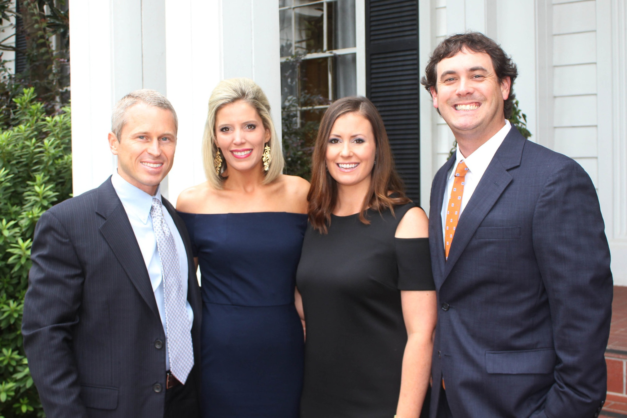 John and Kelley and Lauren and Chris during the Women for A&M-Texarkana's 13th annual Gourmet Dinner and Auction on August 26, 2017.