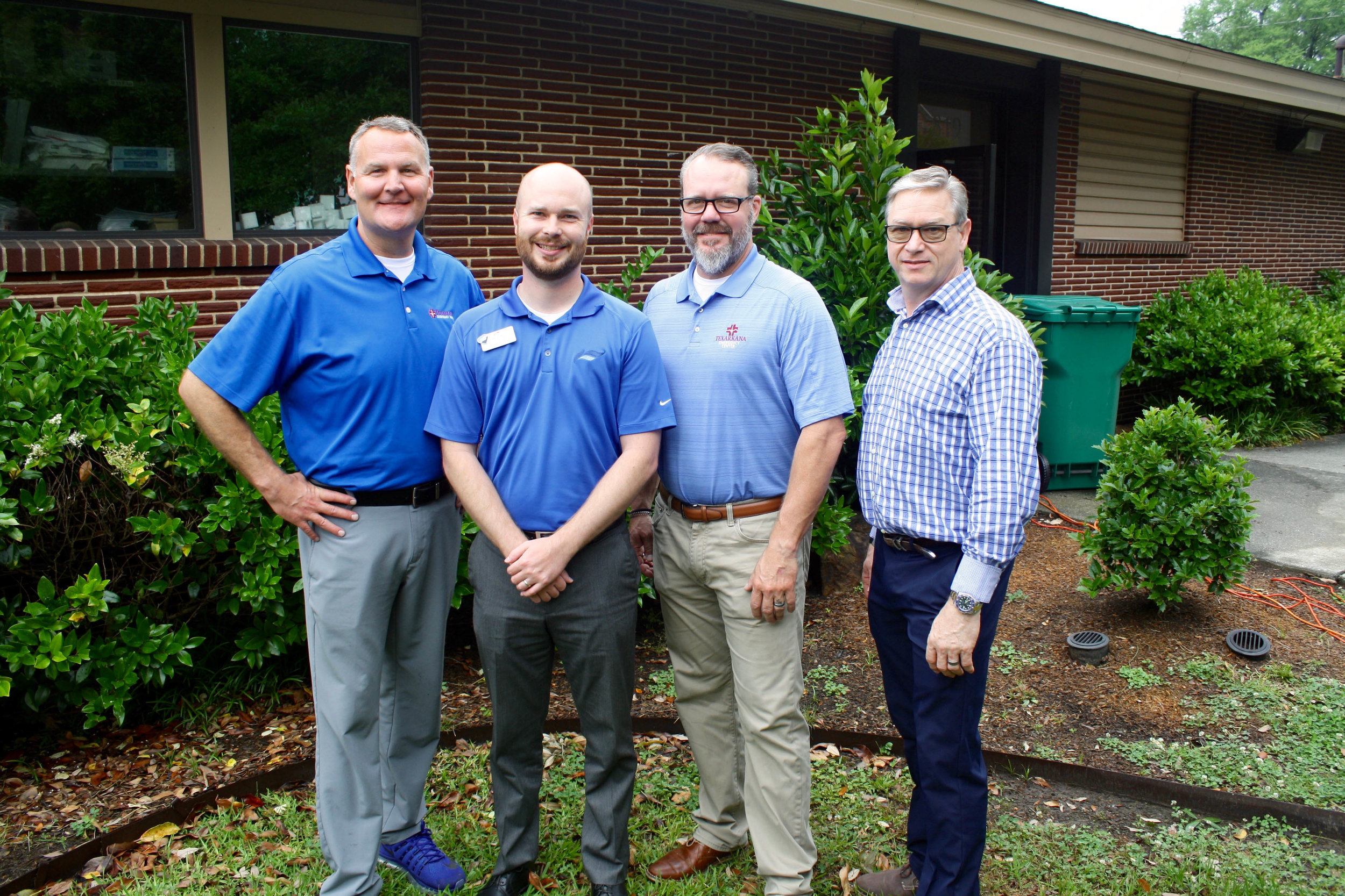 Dr. Matt Young, Kevin Avery, Dr. Erik Jacobsen and Tim O'Neal