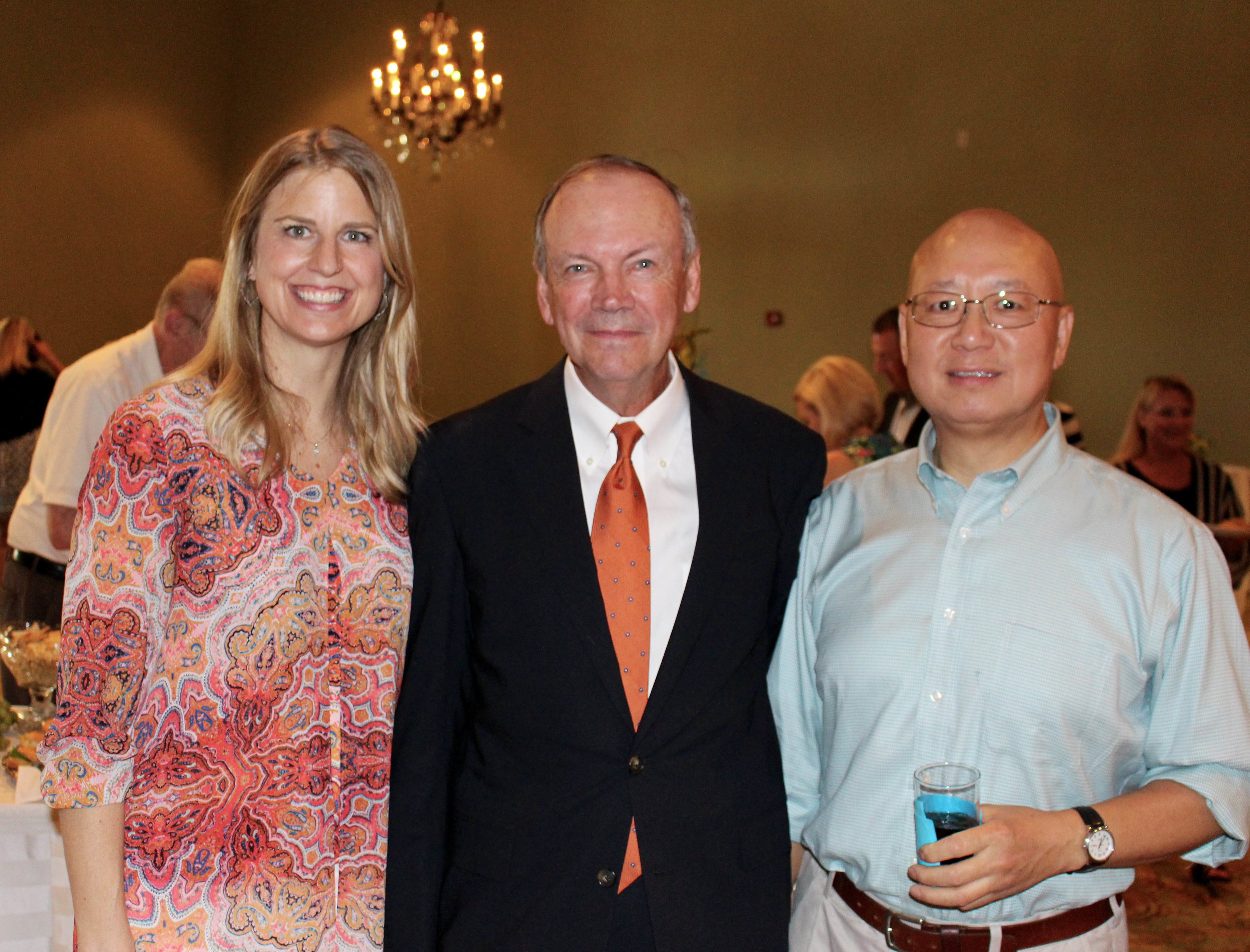 Dr. Kristi Lower, Tom Simmons and Dr. Jason Lee