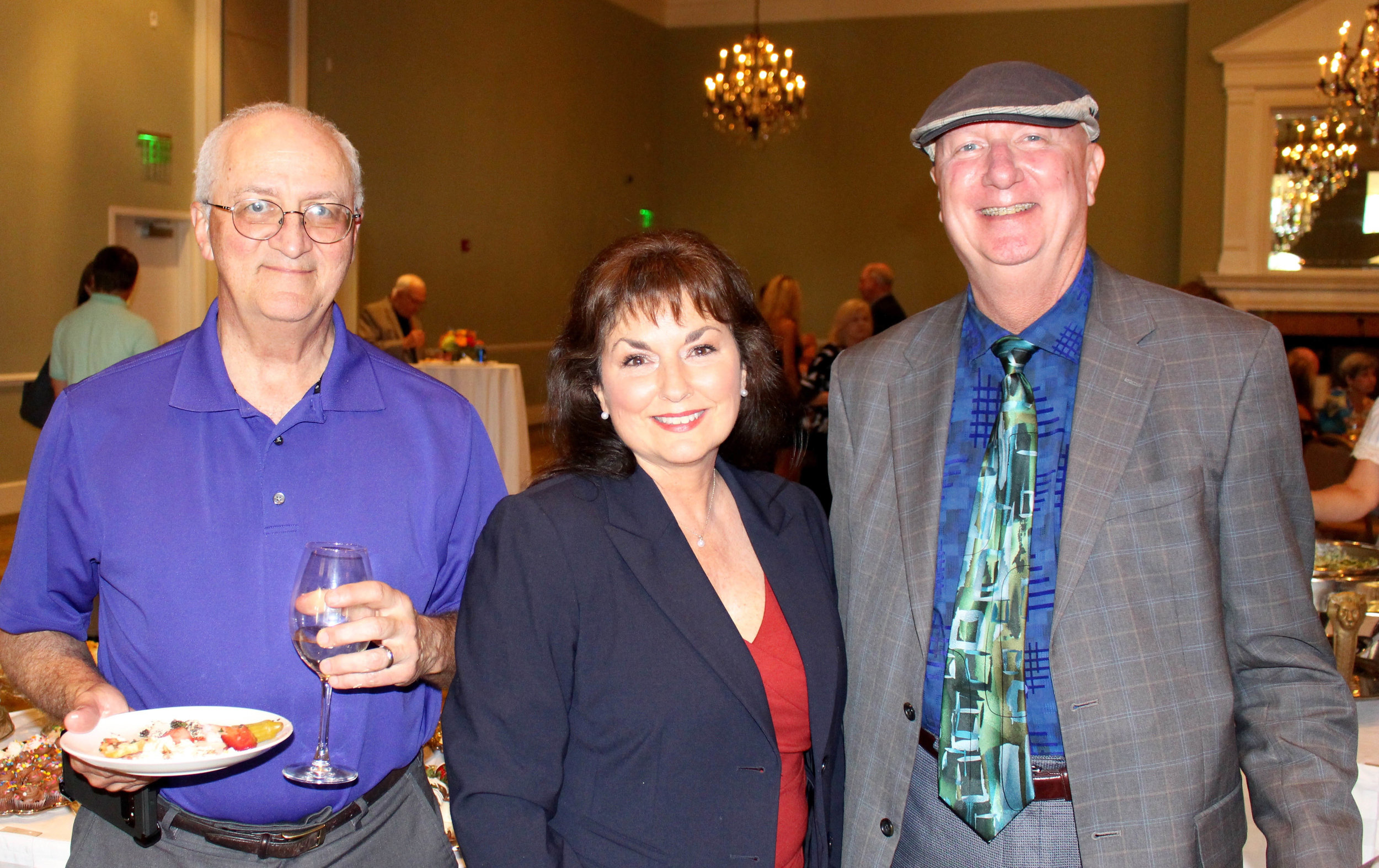 Dr. Michael Martin, Cindy Marsh and Patrick Flannery